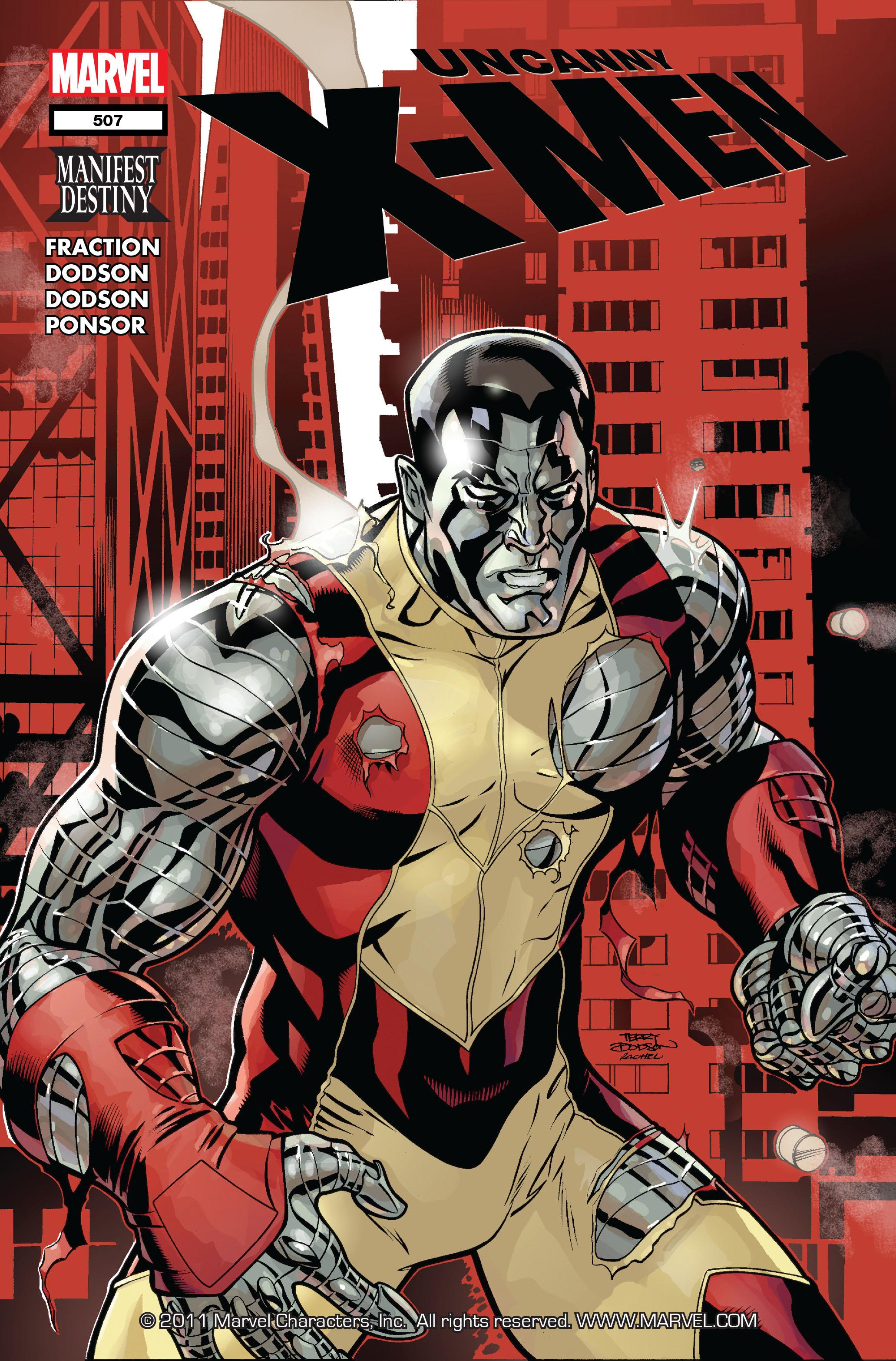 Uncanny X-Men (1963) 507 Page 1