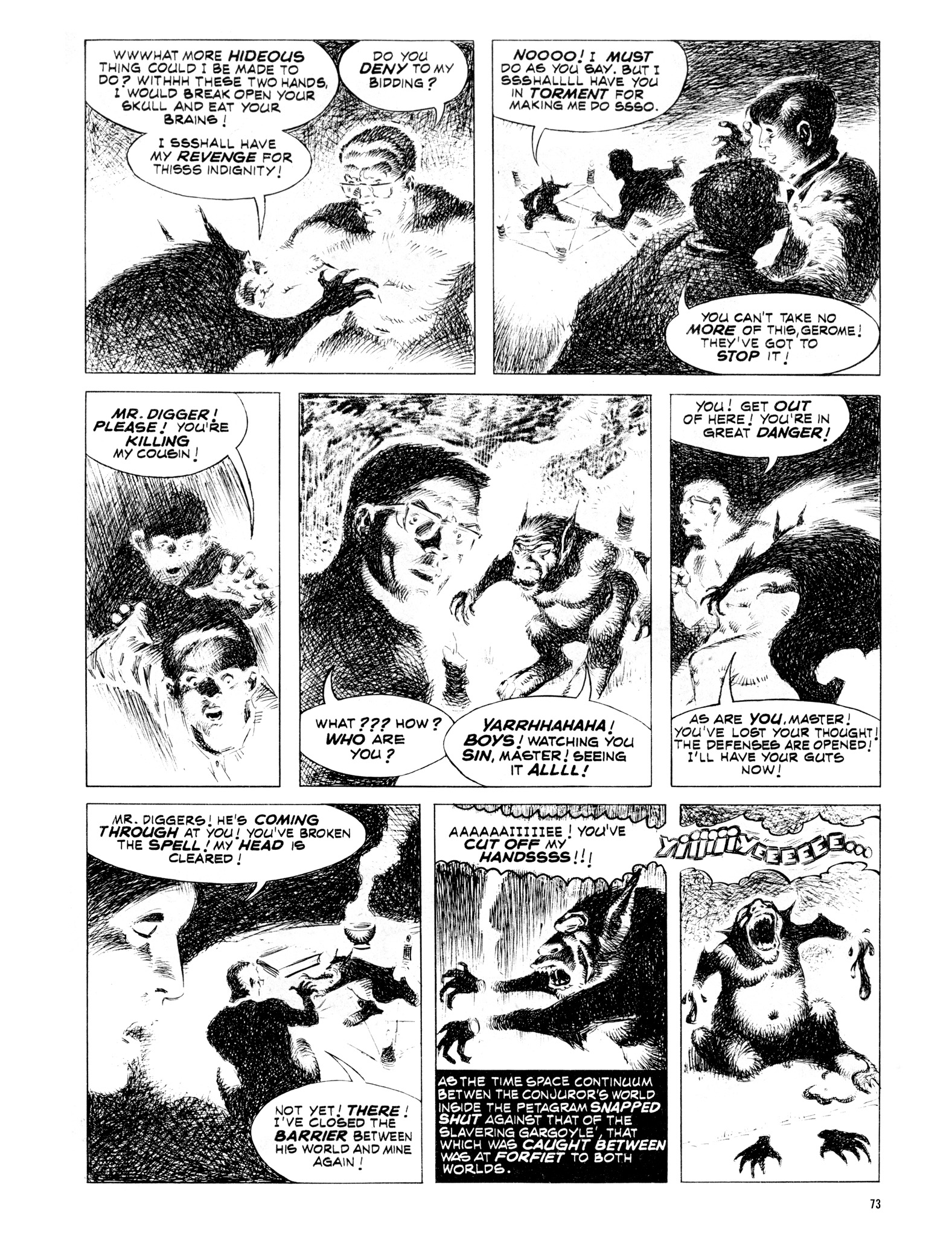 Read online Eerie Archives comic -  Issue # TPB 16 - 74