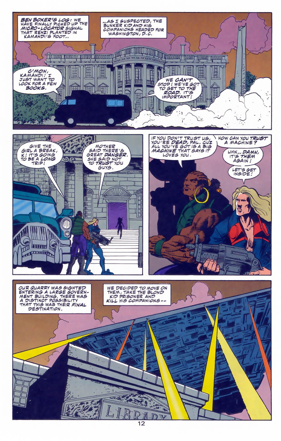 Read online Kamandi: At Earth's End comic -  Issue #3 - 14