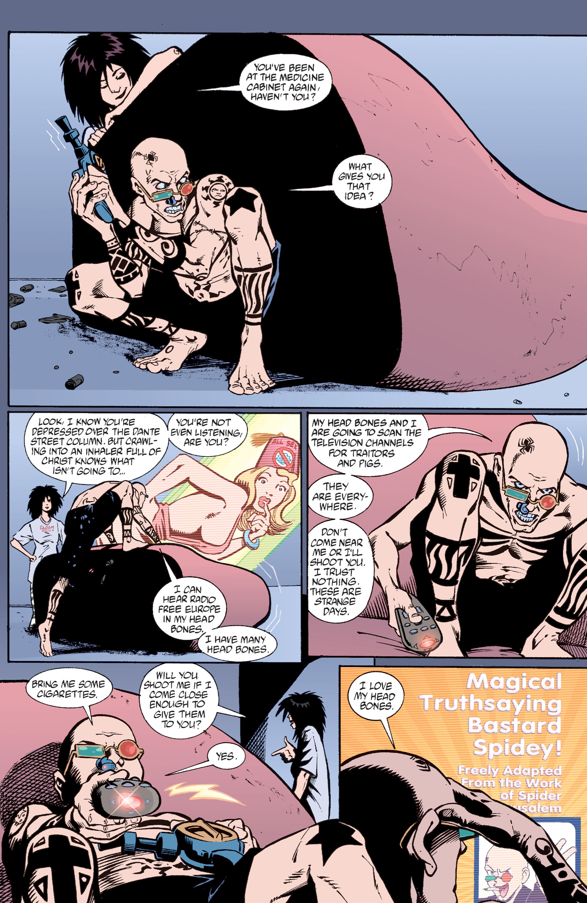 Read online Transmetropolitan comic -  Issue #31 - 3
