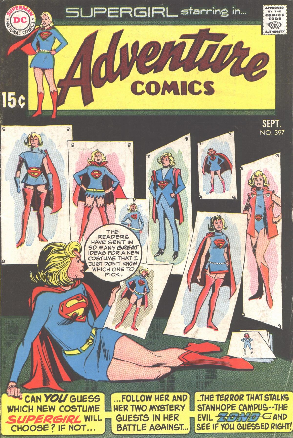 Read online Adventure Comics (1938) comic -  Issue #397 - 1