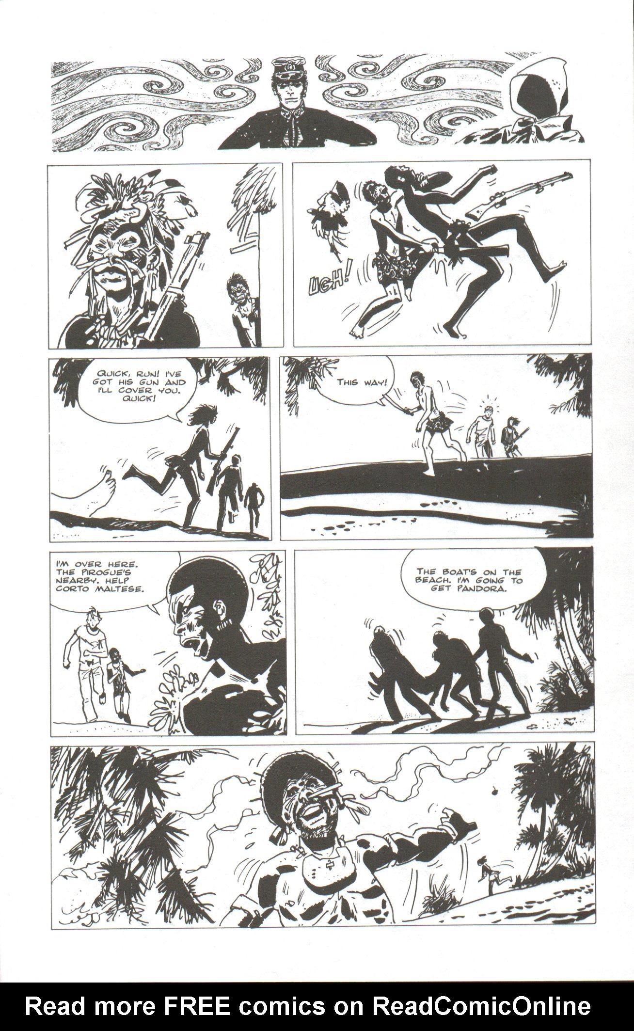 Read online Corto Maltese: Ballad of the Salt Sea comic -  Issue #2 - 19