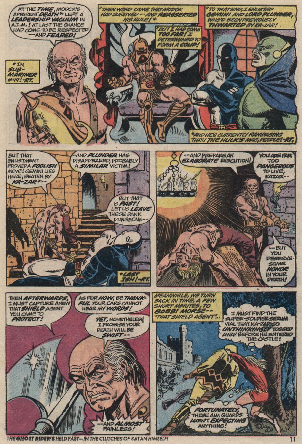 Read online Astonishing Tales (1970) comic -  Issue #20 - 9