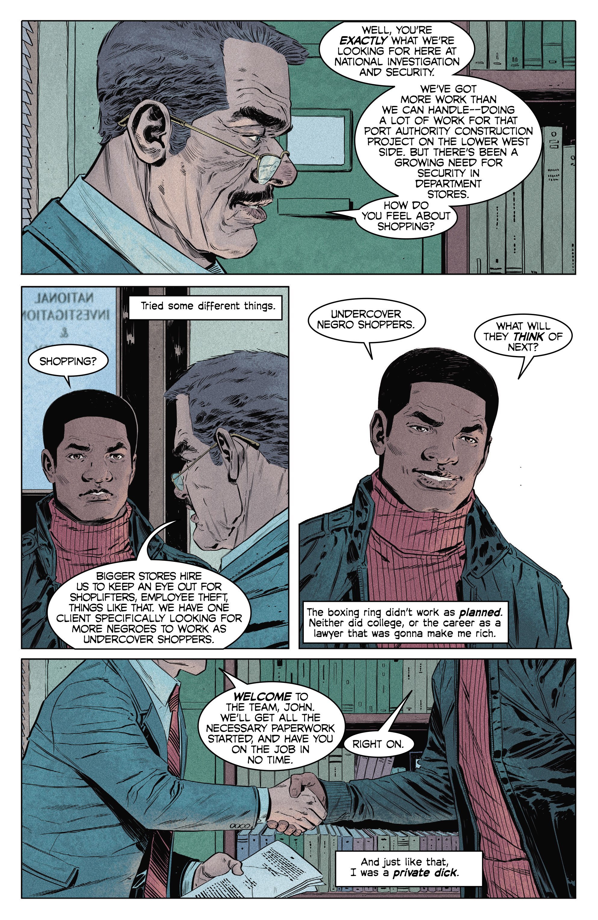 Read online Shaft comic -  Issue #2 - 6