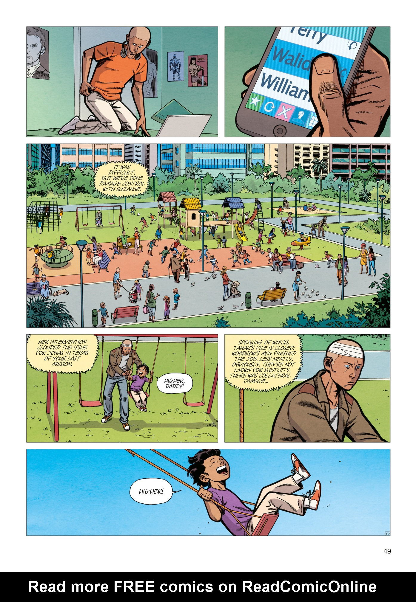 Read online Alter Ego comic -  Issue #4 - 51