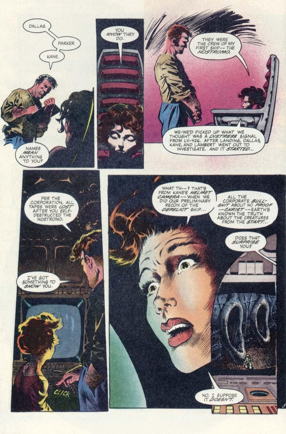 Read online Aliens: Earth War comic -  Issue #1 - 10