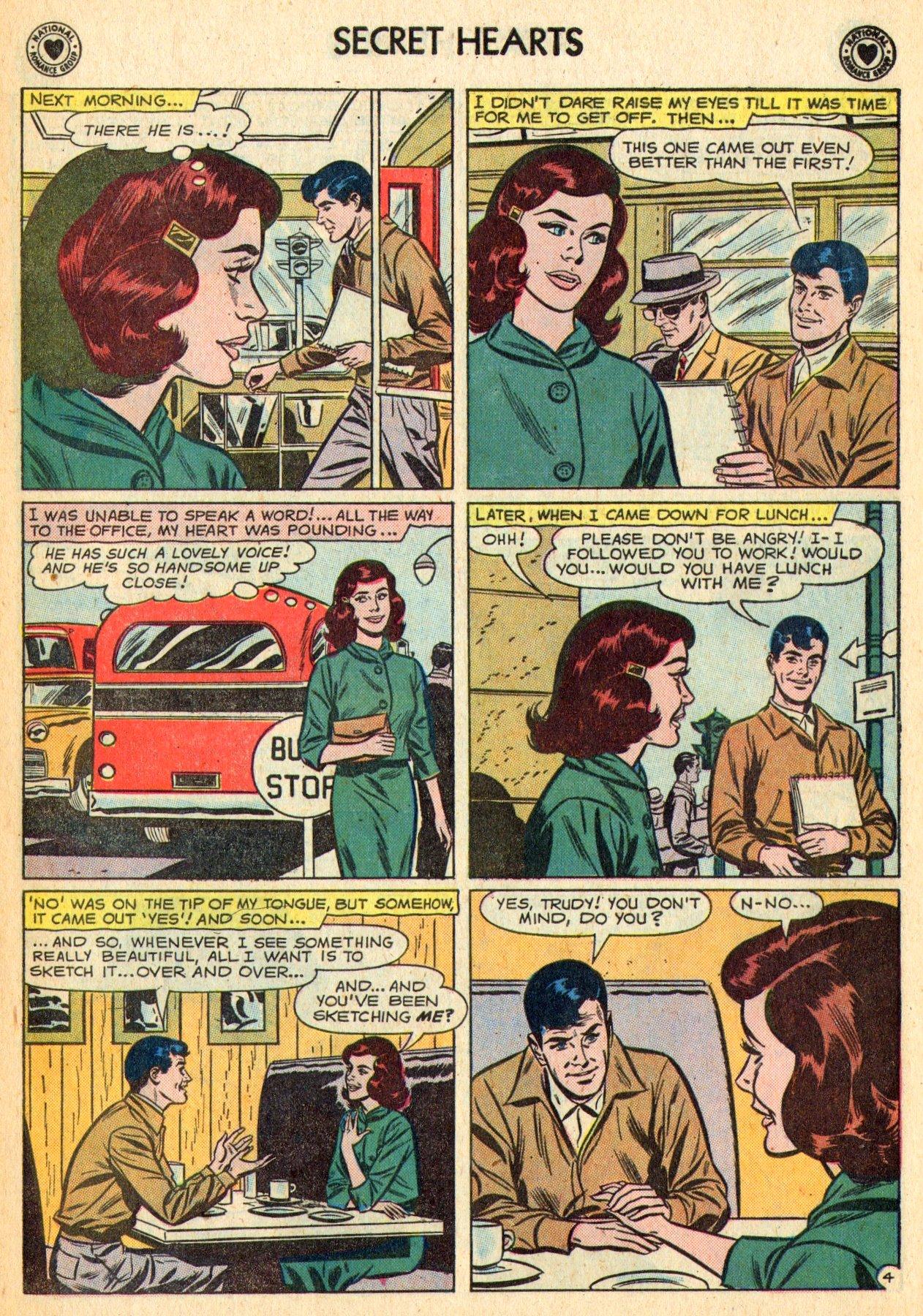Read online Secret Hearts comic -  Issue #70 - 15