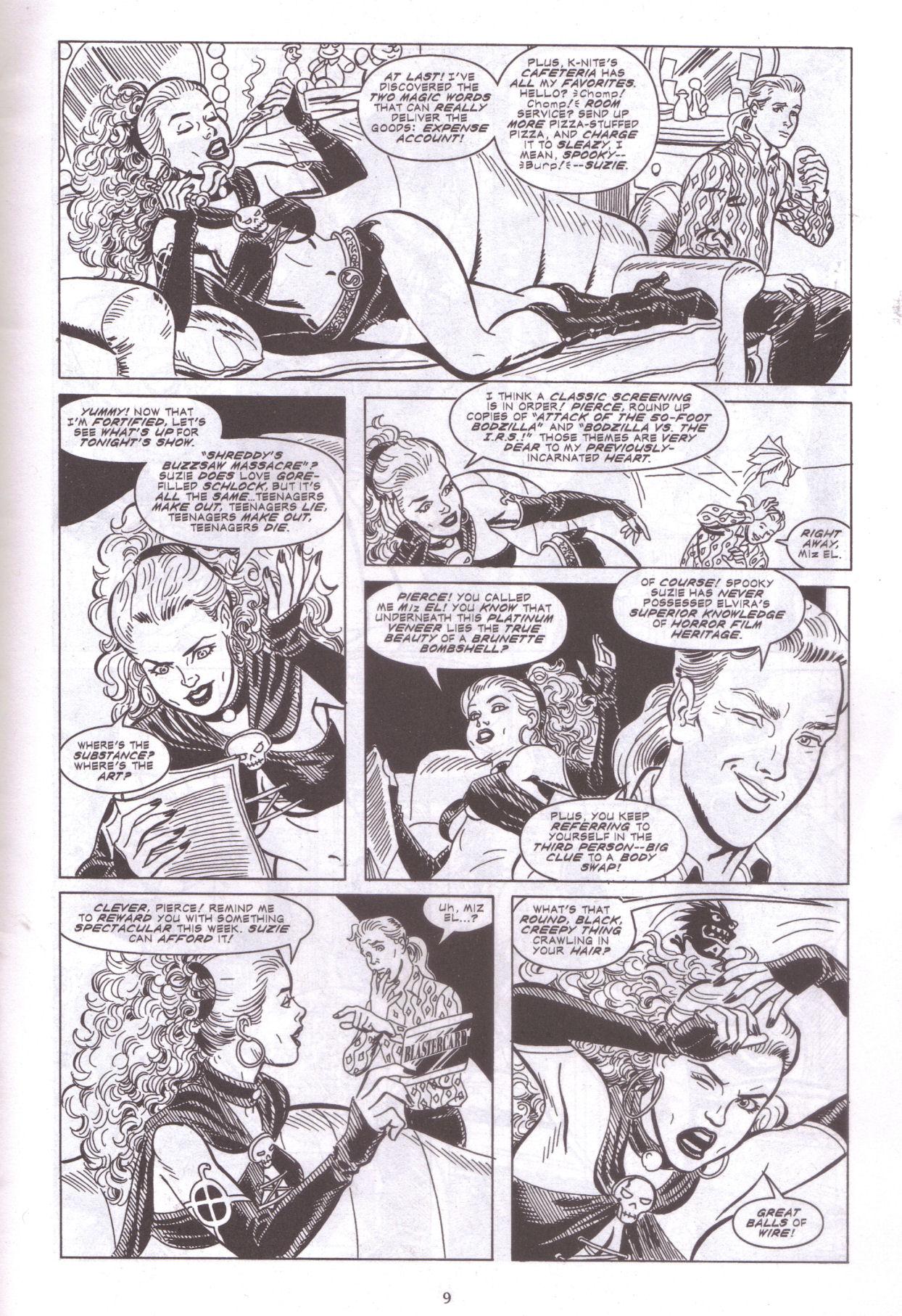 Read online Elvira, Mistress of the Dark comic -  Issue #159 - 11