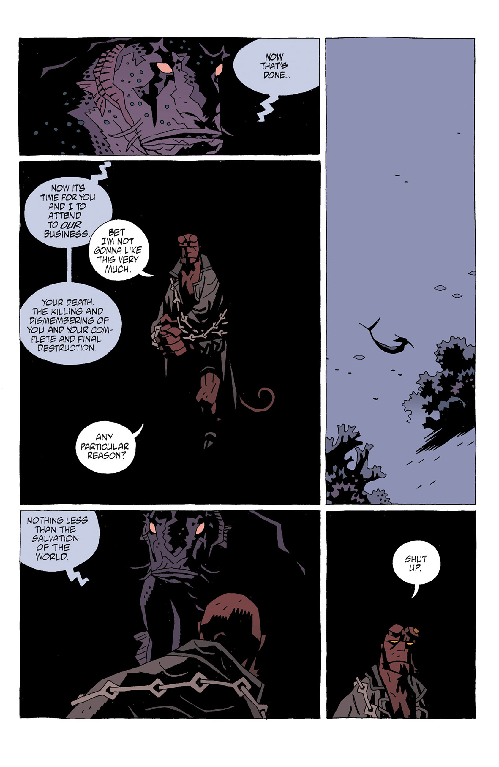 Read online Hellboy: Strange Places comic -  Issue # TPB - 37