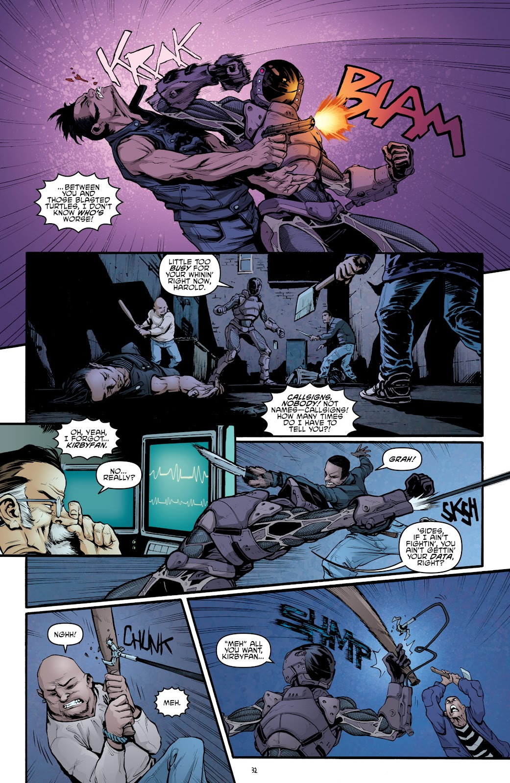 Read online Teenage Mutant Ninja Turtles: The IDW Collection comic -  Issue # TPB 5 (Part 2) - 8