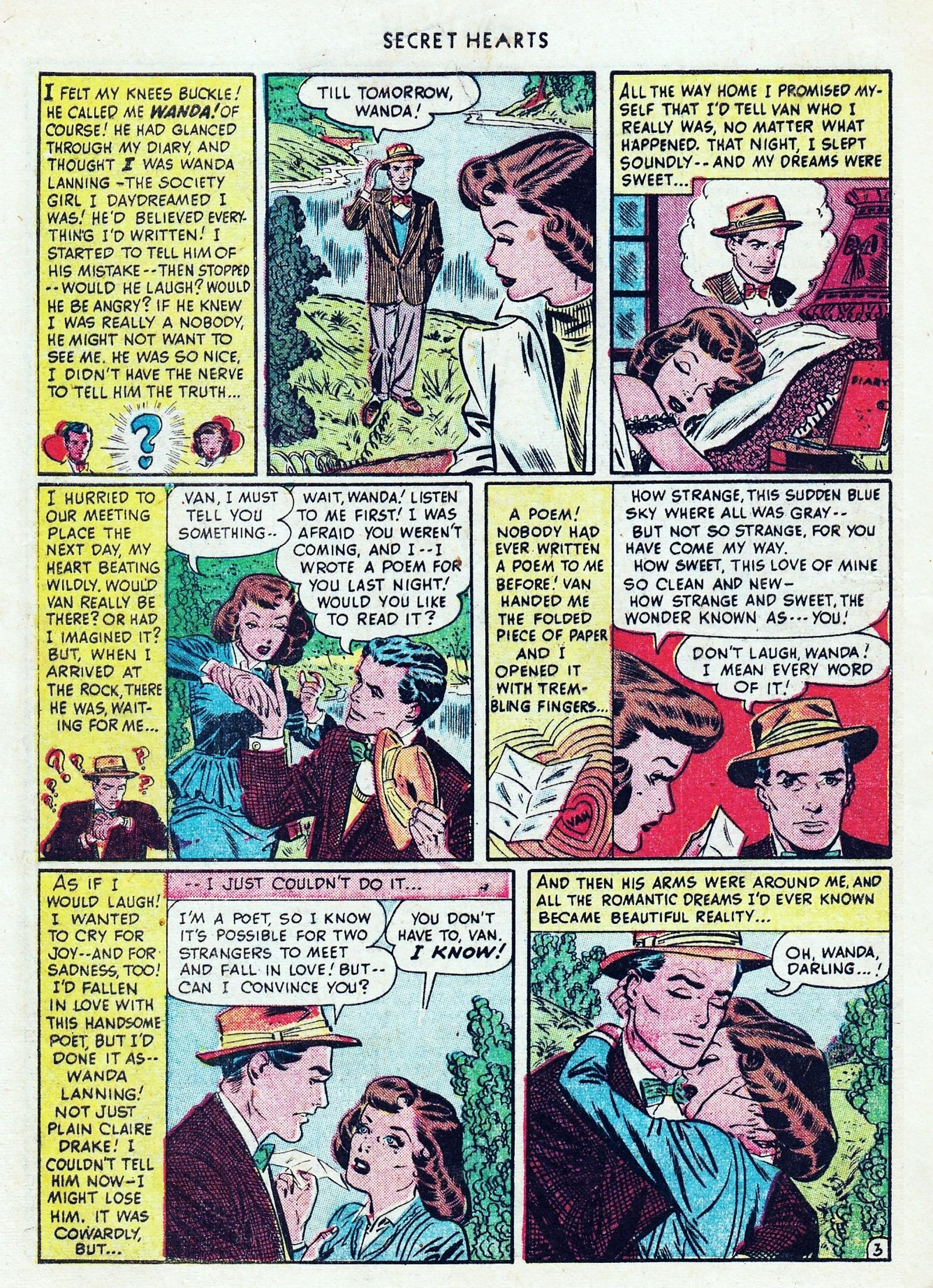 Read online Secret Hearts comic -  Issue #1 - 6