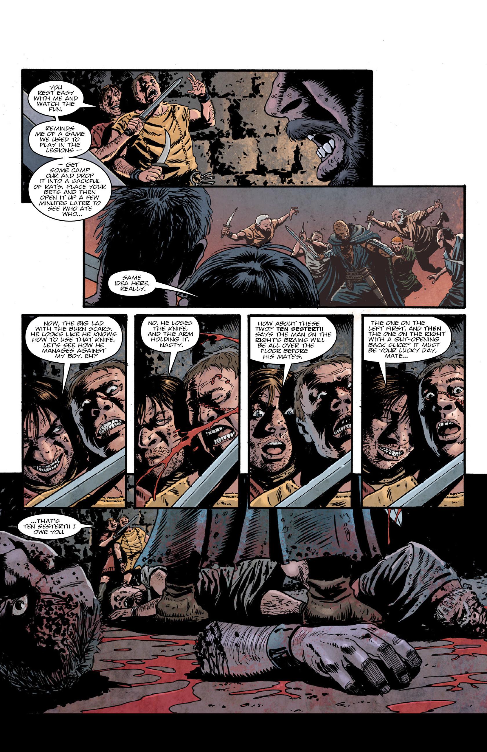 Read online Aquila comic -  Issue #5 - 16