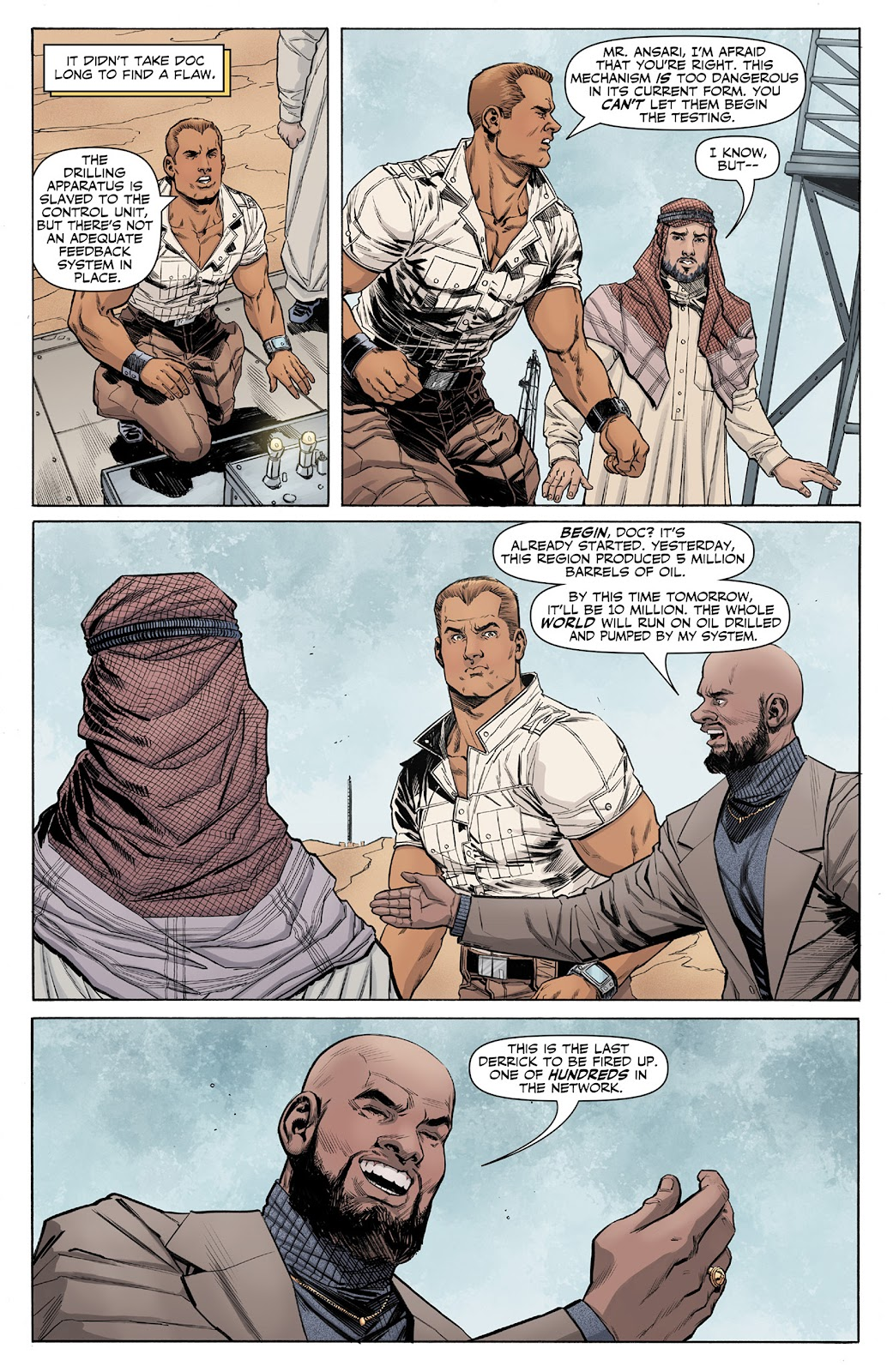 Doc Savage (2013) issue 4 - Page 8