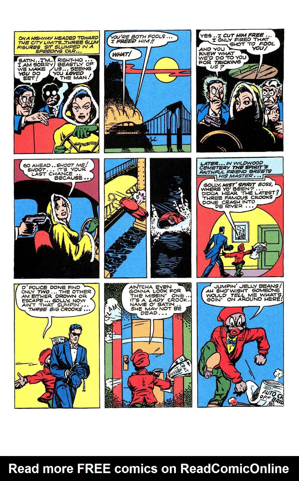 Read online Will Eisner's The Spirit Archives comic -  Issue # TPB 2 (Part 1) - 88