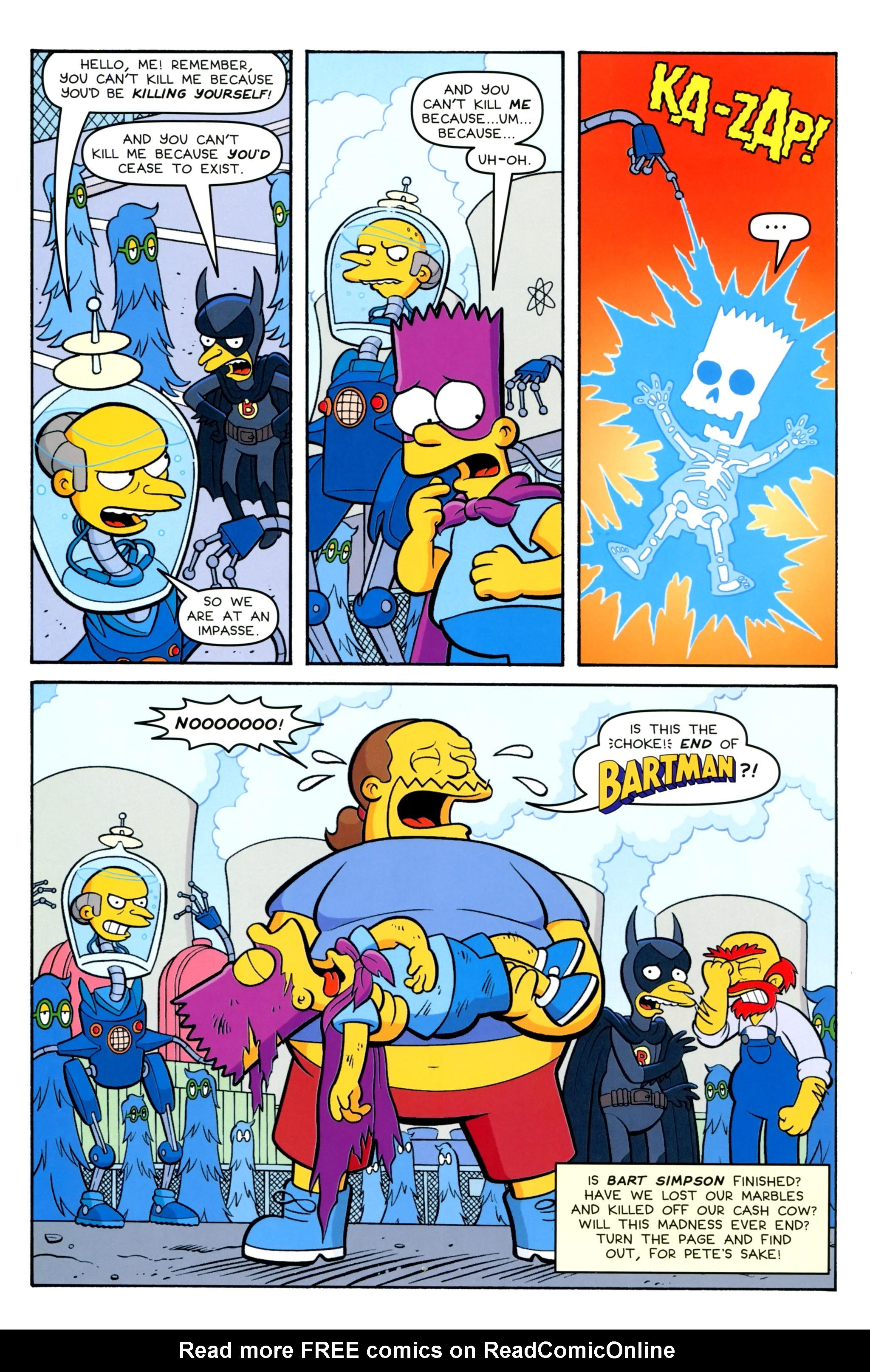 Read online Simpsons Comics Presents Bart Simpson comic -  Issue #100 - 30