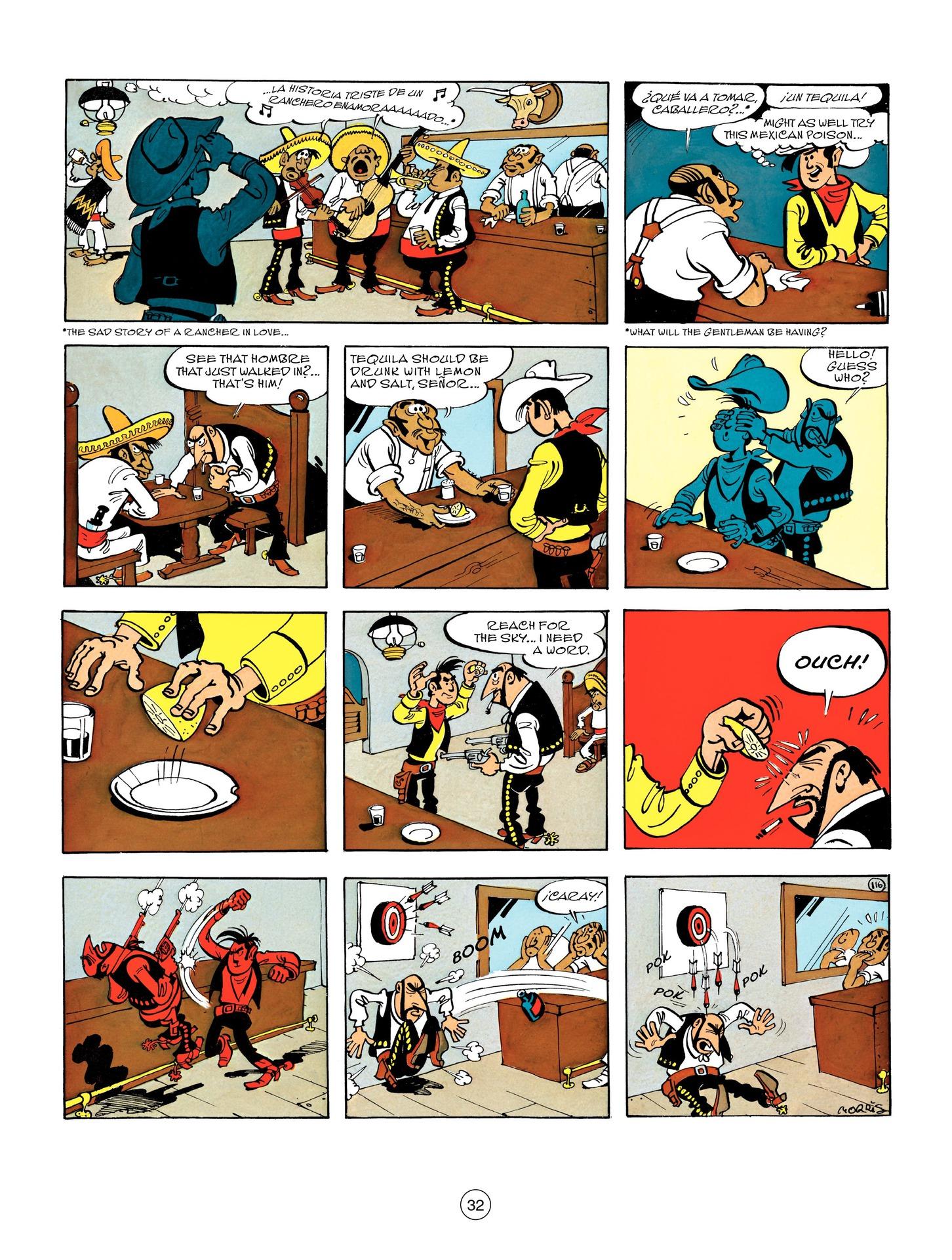 Read online A Lucky Luke Adventure comic -  Issue #55 - 32