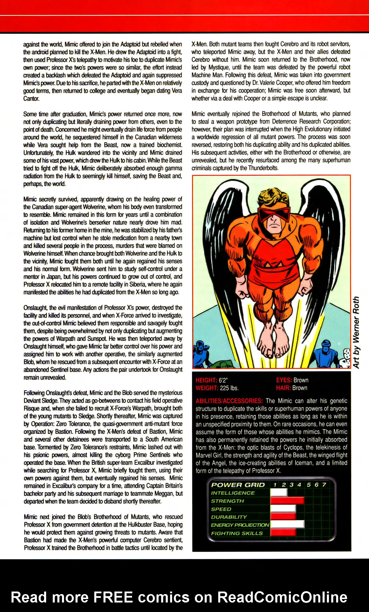 Read online All-New Official Handbook of the Marvel Universe A to Z comic -  Issue #7 - 40