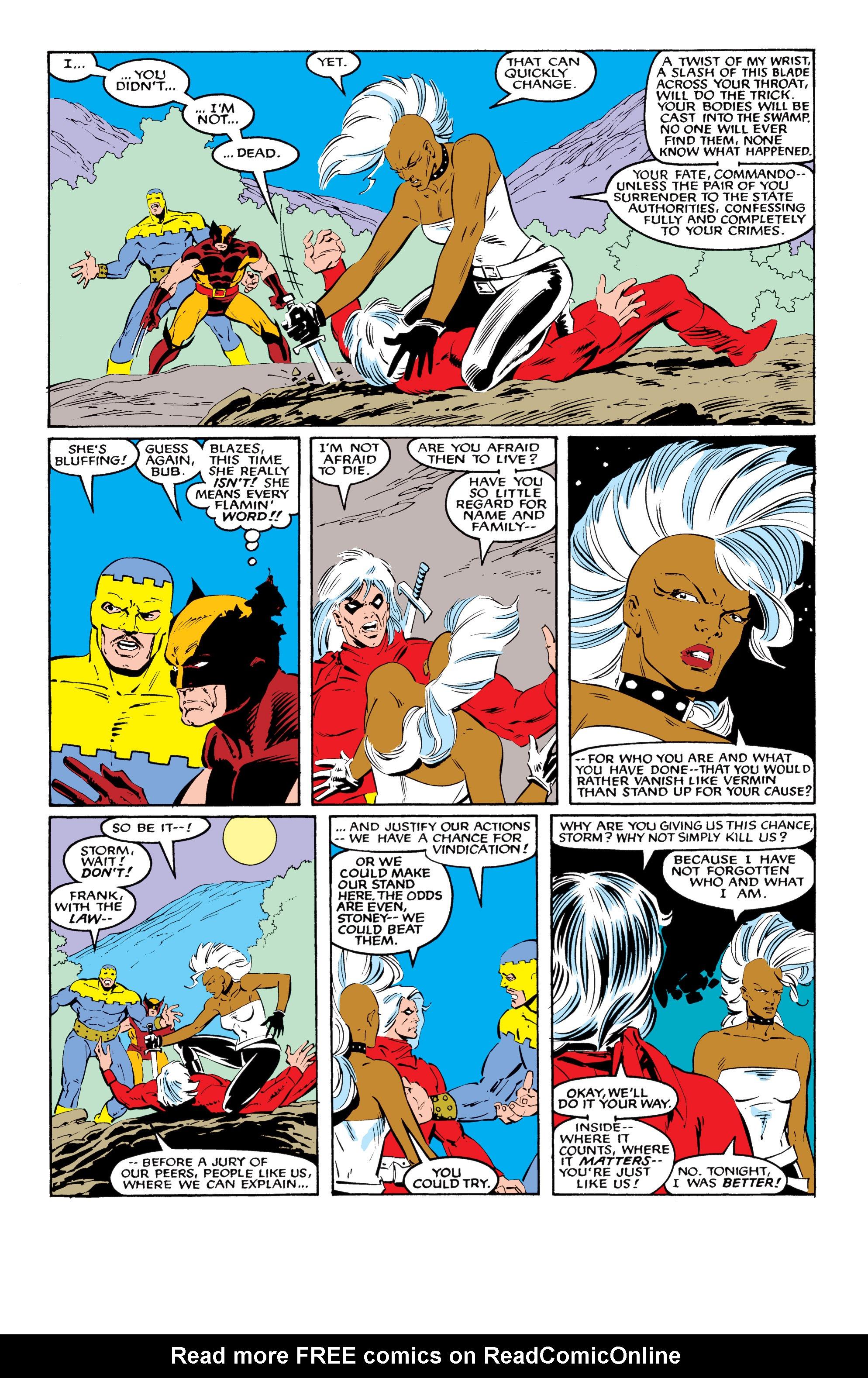 Read online Uncanny X-Men (1963) comic -  Issue #216 - 23