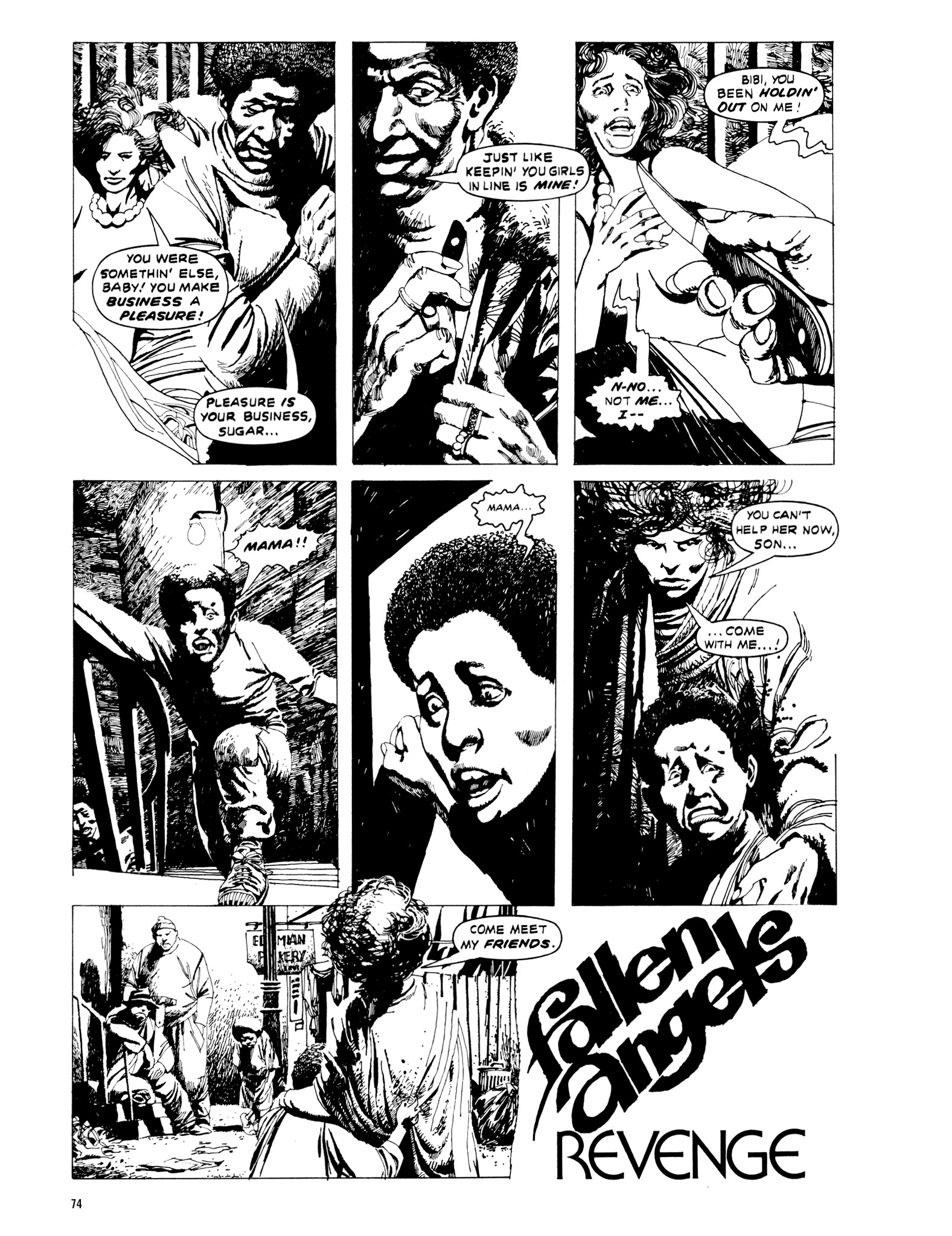 Read online Eerie Archives comic -  Issue # TPB 20 - 74
