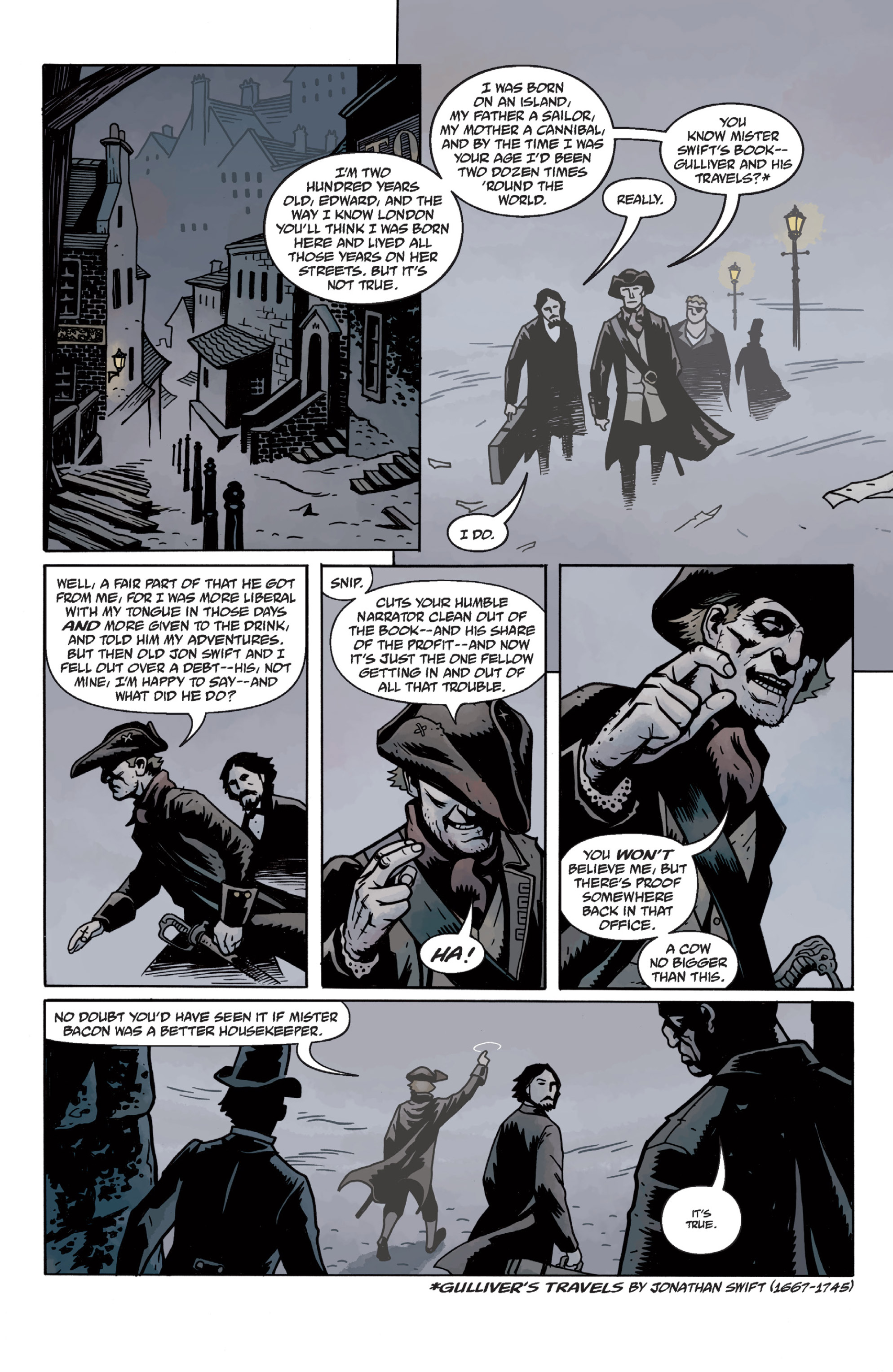 Read online Sir Edward Grey, Witchfinder: In the Service of Angels comic -  Issue # TPB - 39