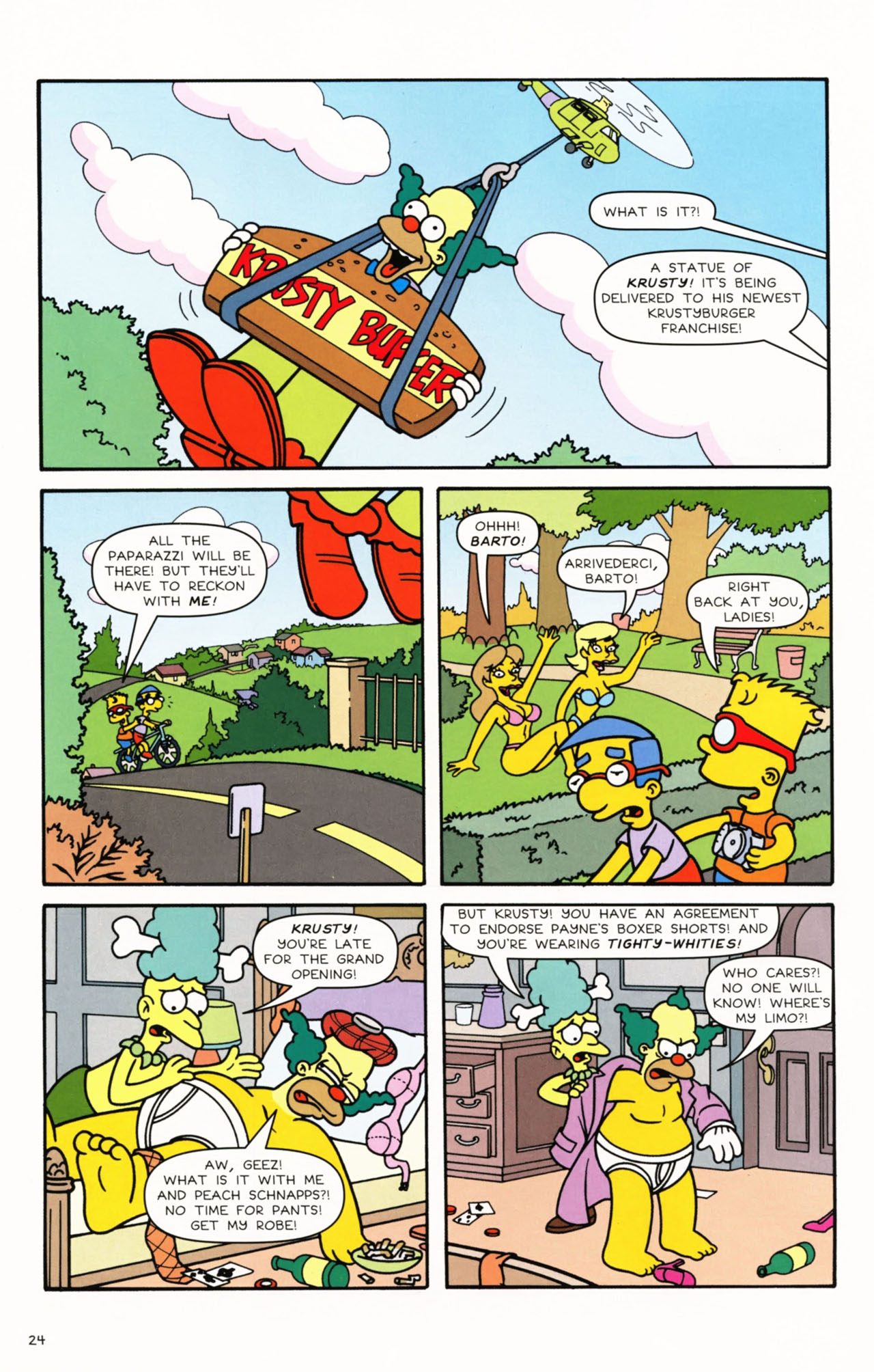 Read online Simpsons Comics Presents Bart Simpson comic -  Issue #53 - 26