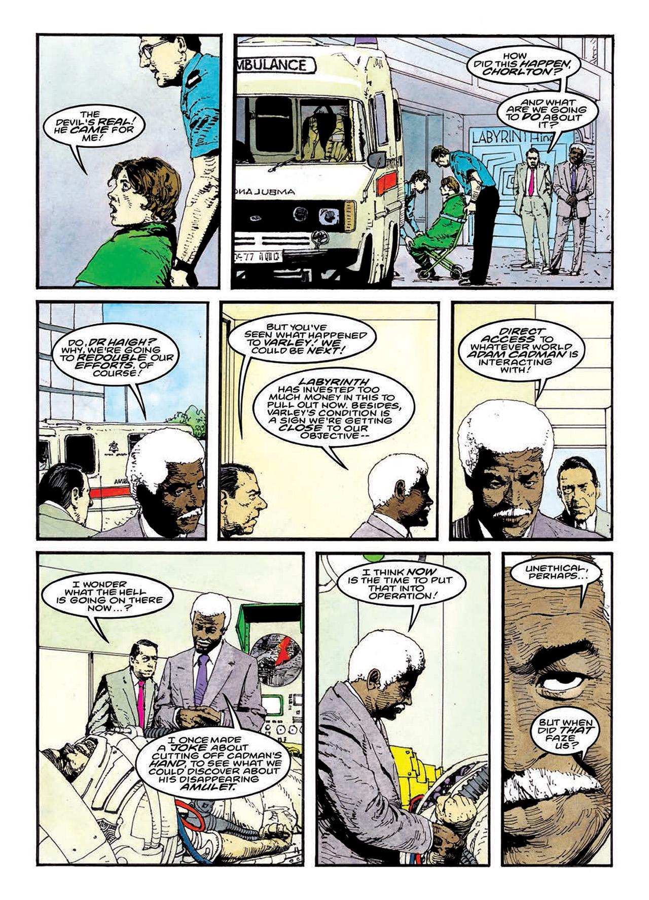 Read online Mazeworld comic -  Issue # TPB - 163