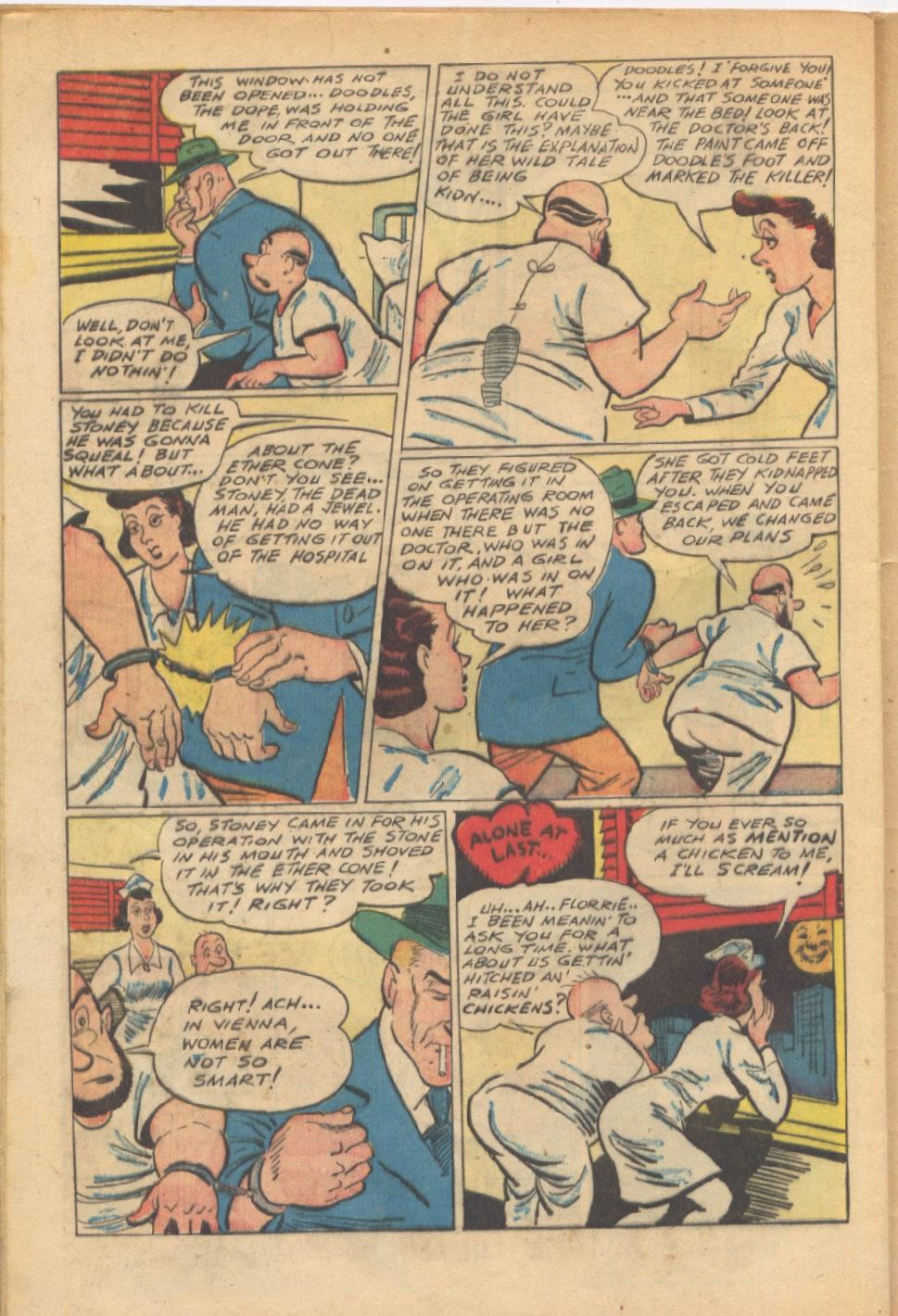 Read online Super-Magician Comics comic -  Issue #37 - 39