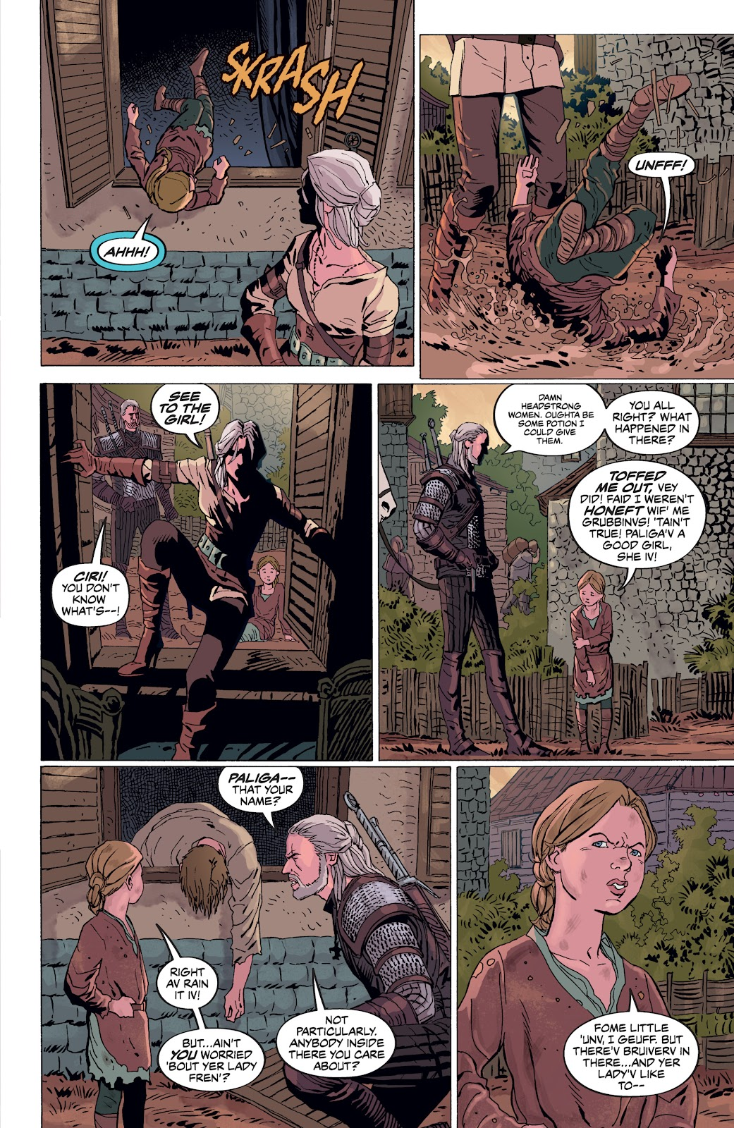 Read online The Witcher Omnibus comic -  Issue # TPB (Part 4) - 34