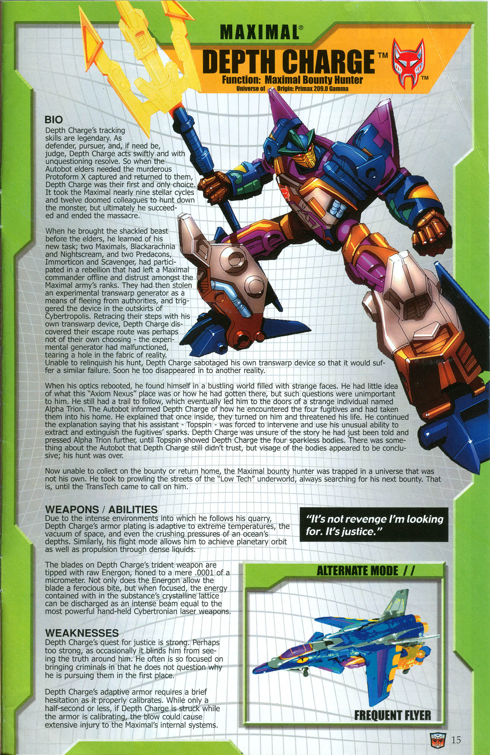 Read online Transformers: Collectors' Club comic -  Issue #49 - 15