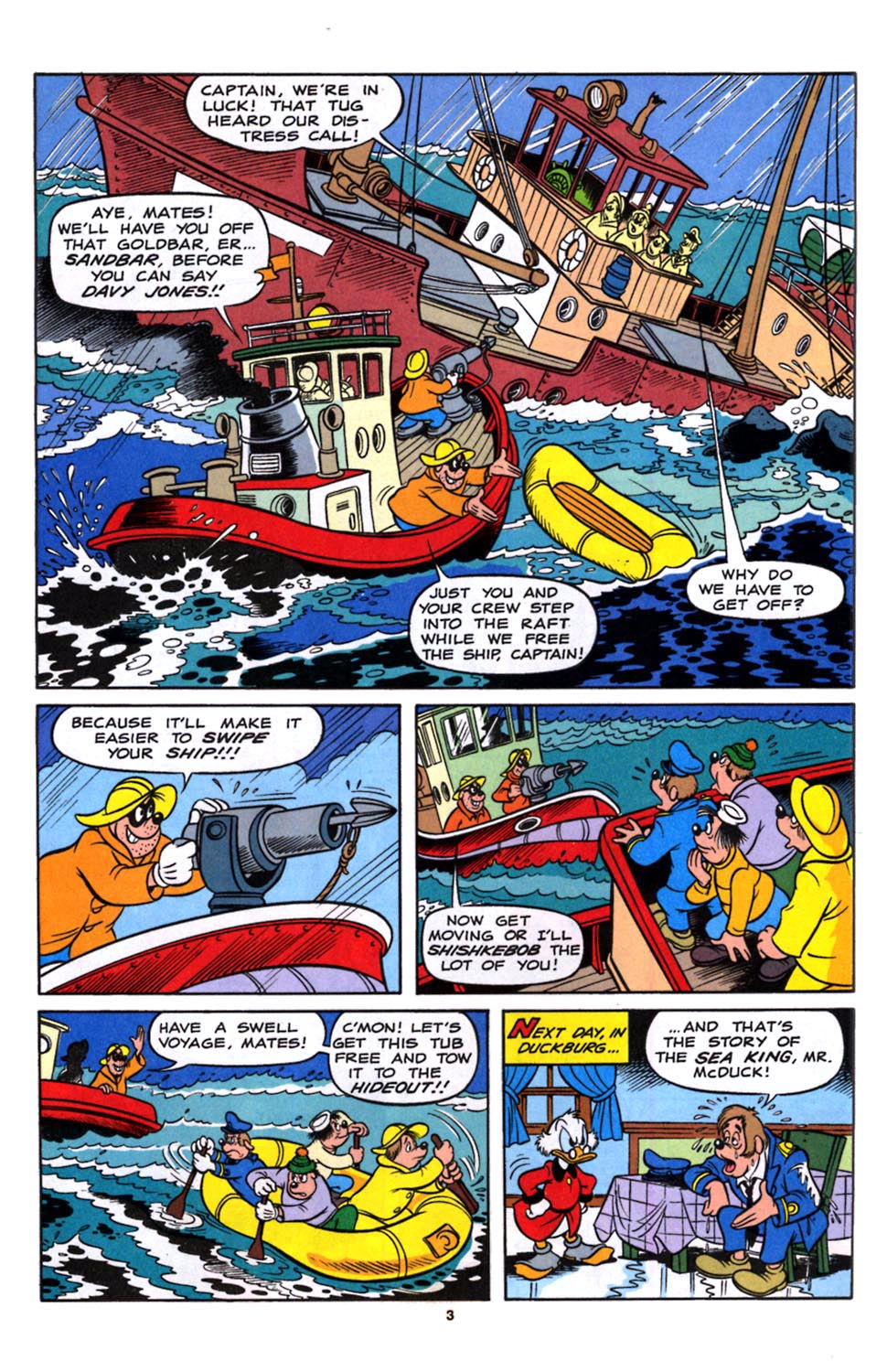 Read online Uncle Scrooge (1953) comic -  Issue #245 - 4