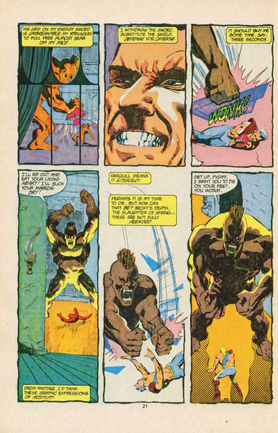 Read online Justice (1986) comic -  Issue #15 - 22