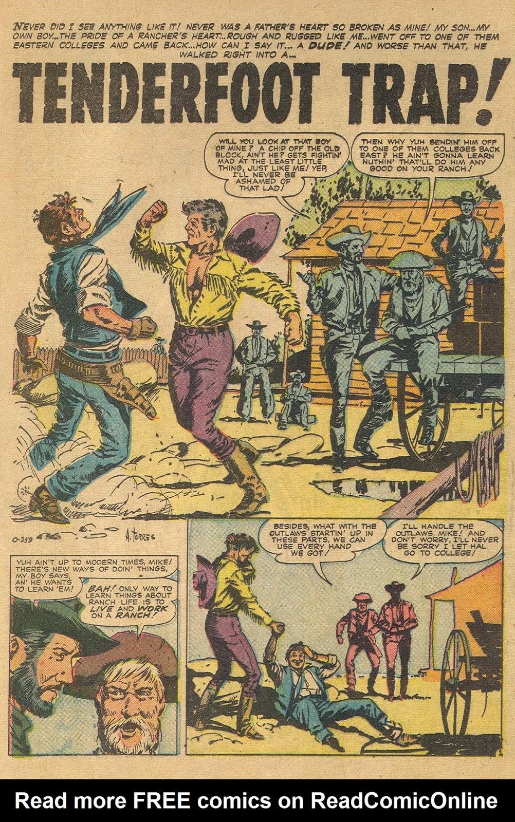 Gunsmoke Western issue 44 - Page 20