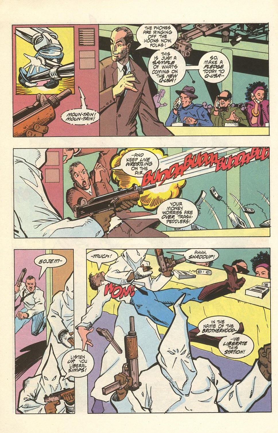 Read online American Flagg! comic -  Issue #32 - 22