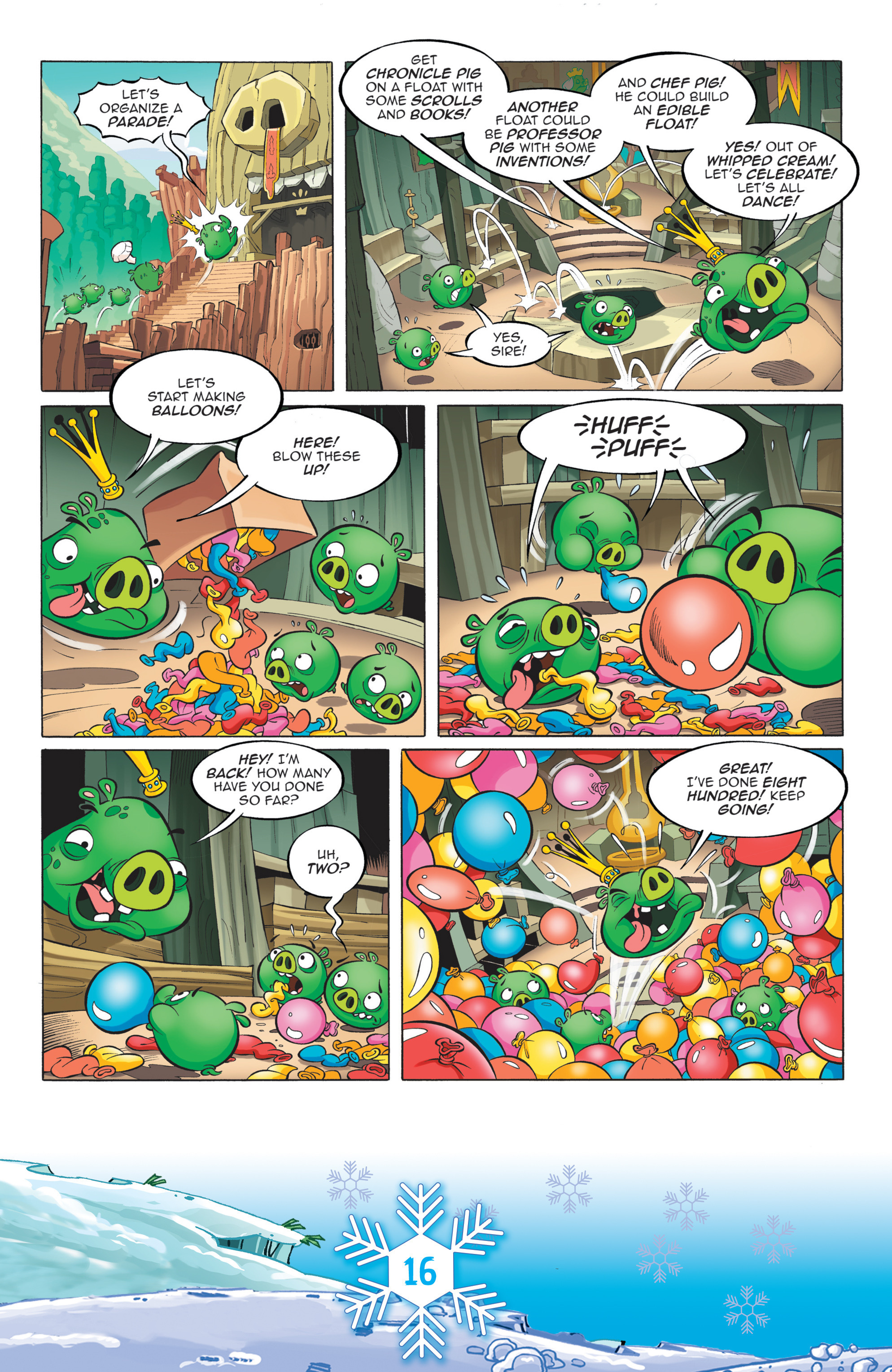 Read online Angry Birds Comics (2016) comic -  Issue #12 - 18
