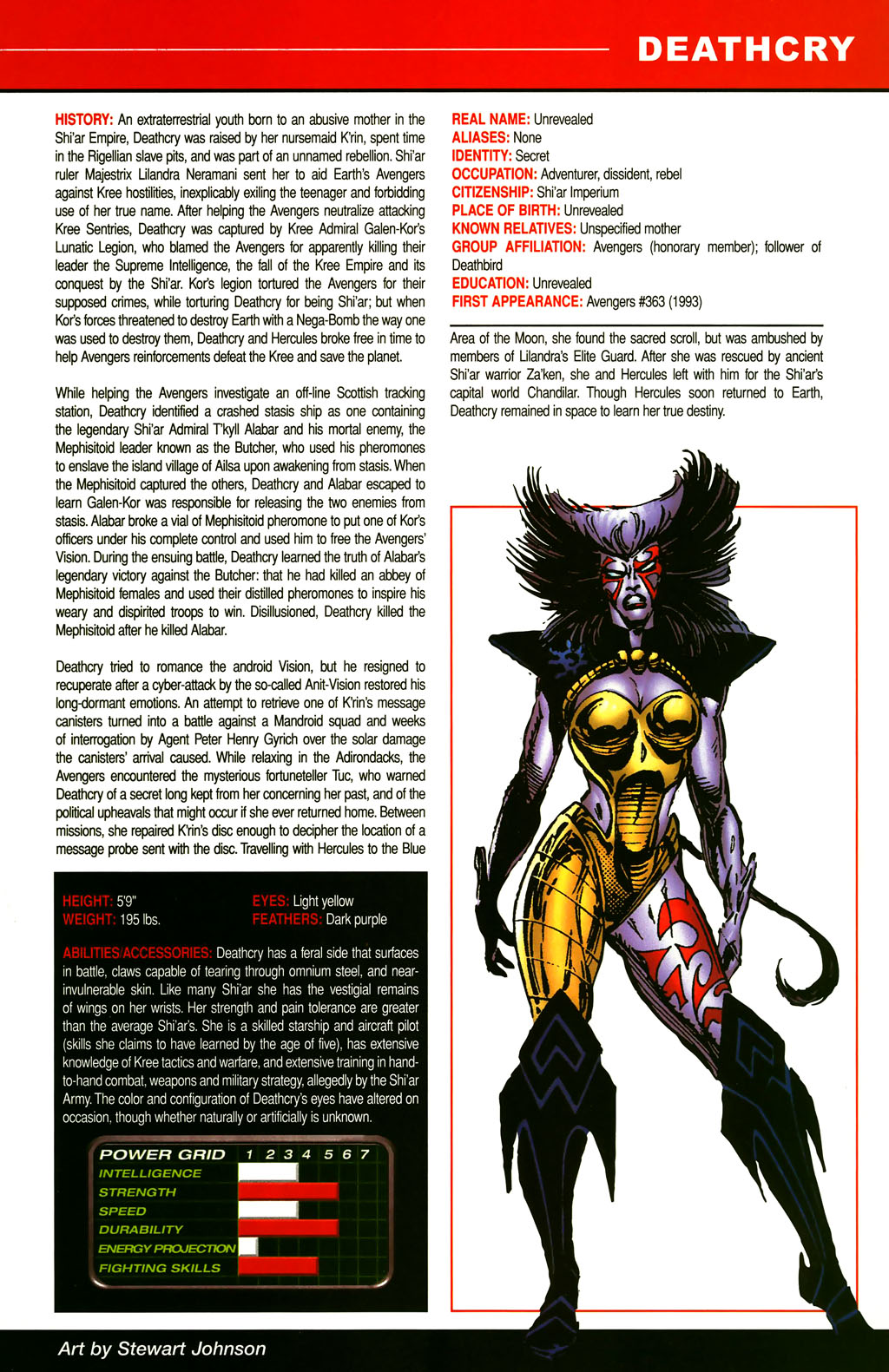 Read online All-New Official Handbook of the Marvel Universe A to Z comic -  Issue #3 - 29