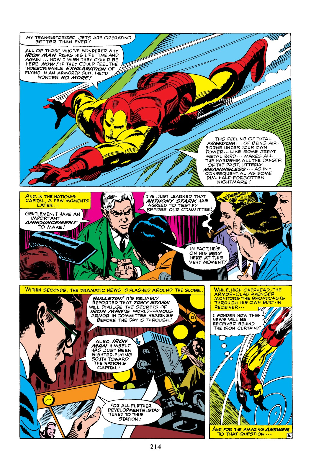 Read online Marvel Masterworks: The Invincible Iron Man comic -  Issue # TPB 3 (Part 4) - 54