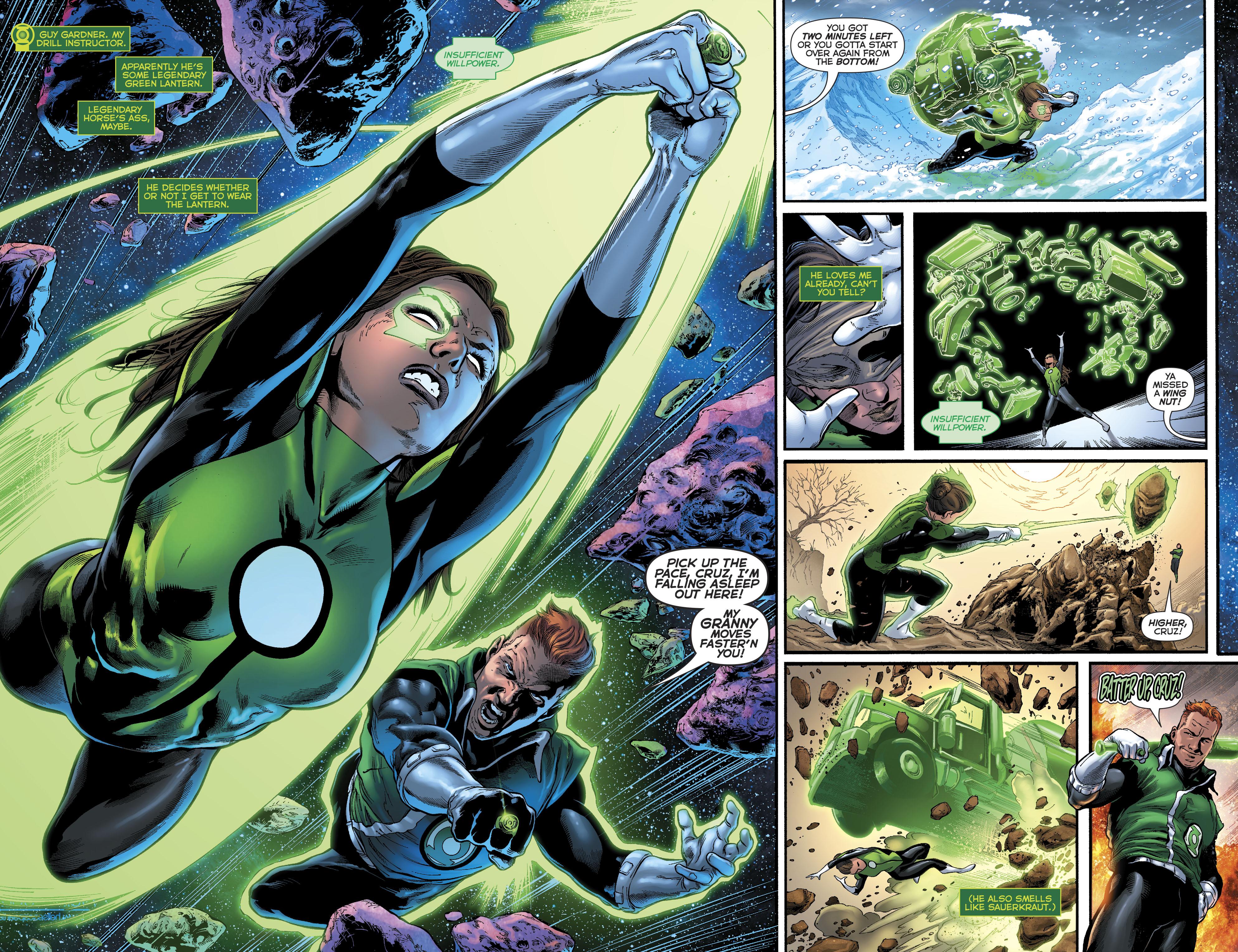 Read online Green Lanterns comic -  Issue #23 - 5