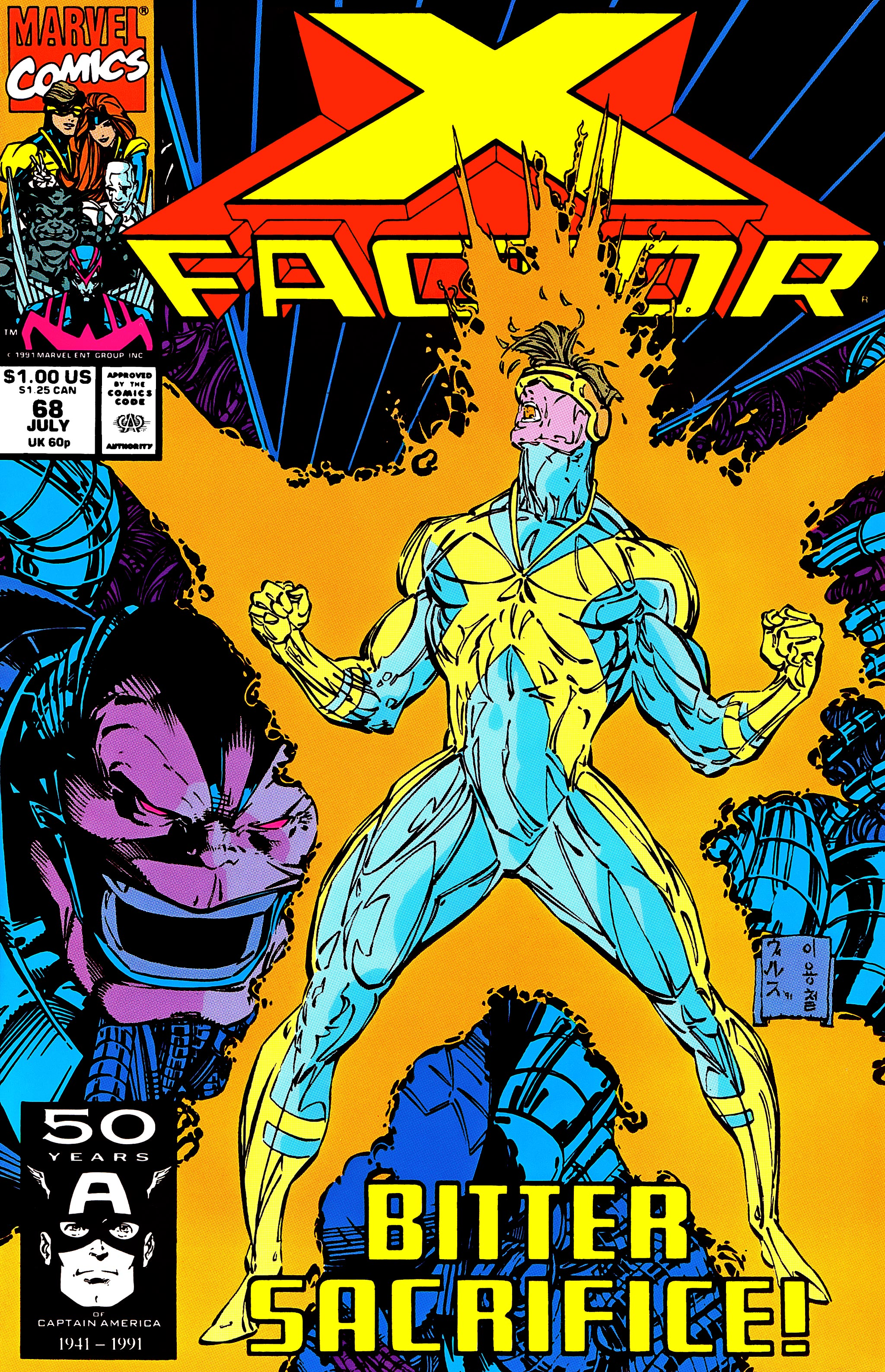 Read online X-Factor (1986) comic -  Issue #68 - 1