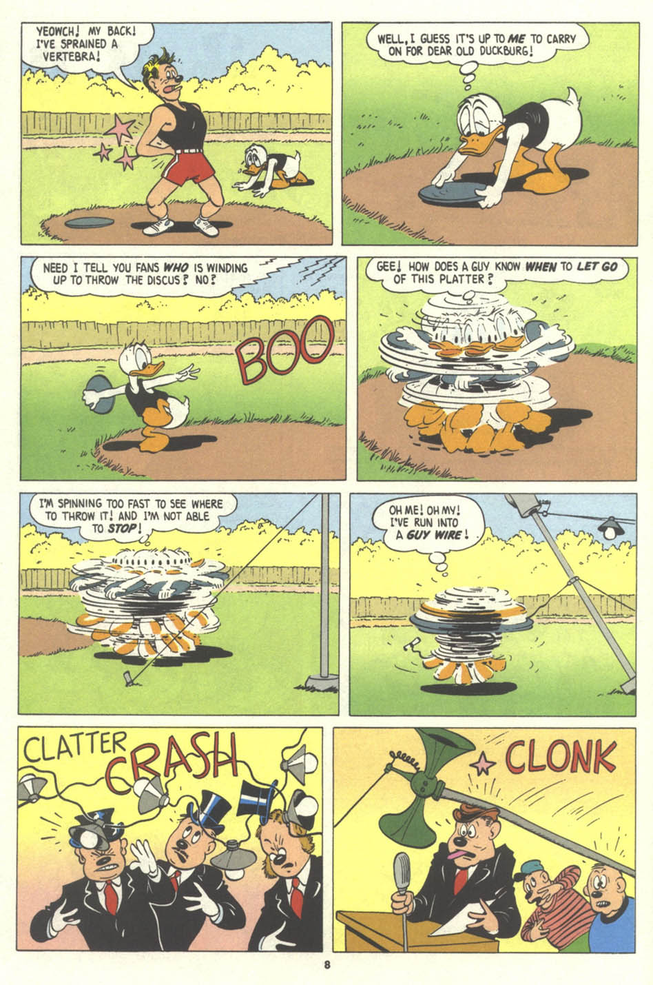 Walt Disney's Comics and Stories issue 575 - Page 9