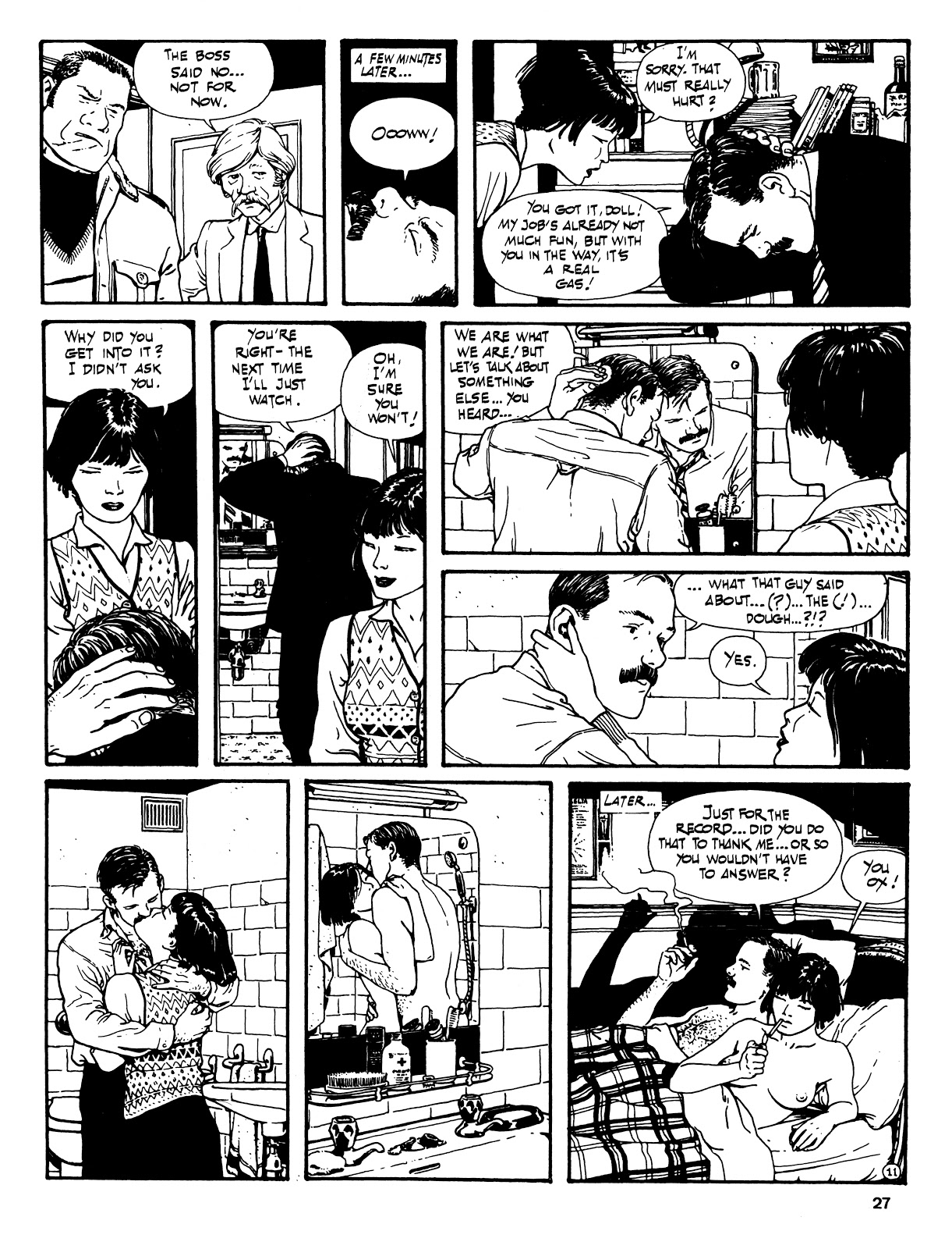 Read online Cases from the Files of Sam Pezzo, P.I. comic -  Issue # Full - 28