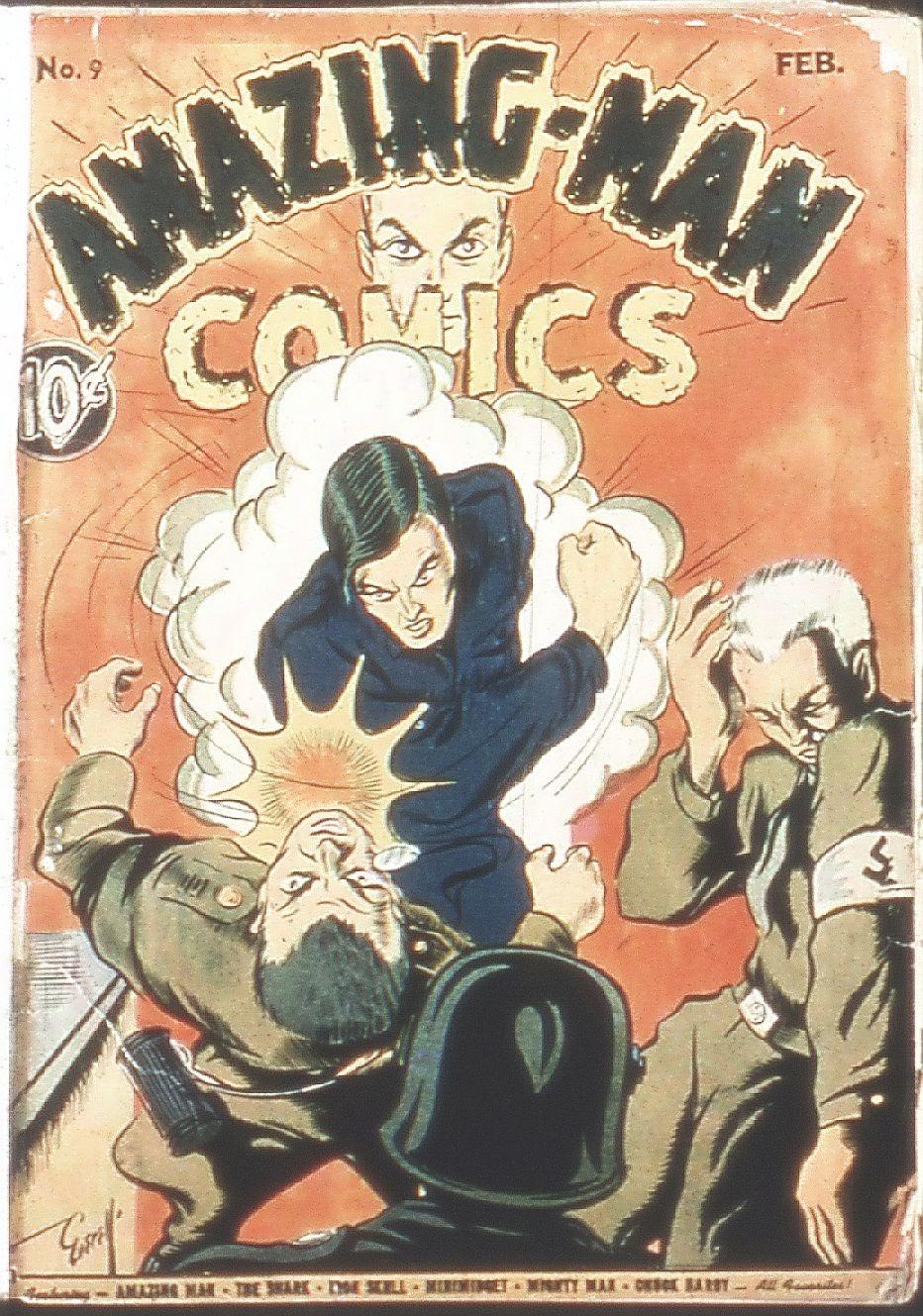 Read online Amazing Man Comics comic -  Issue #9 - 2