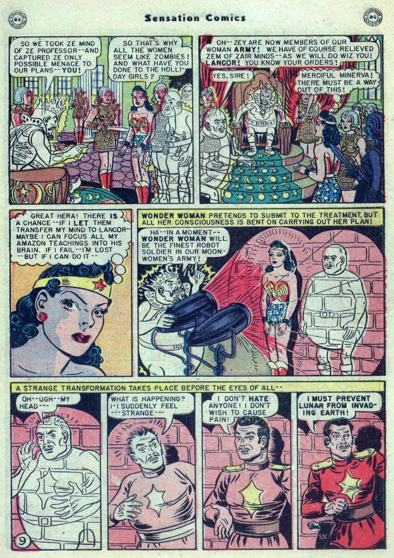 Read online Sensation (Mystery) Comics comic -  Issue #82 - 11