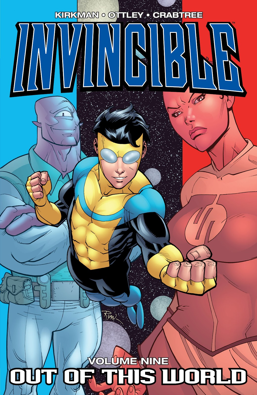 Invincible (2003) _TPB_9_-_Out_of_This_World Page 1