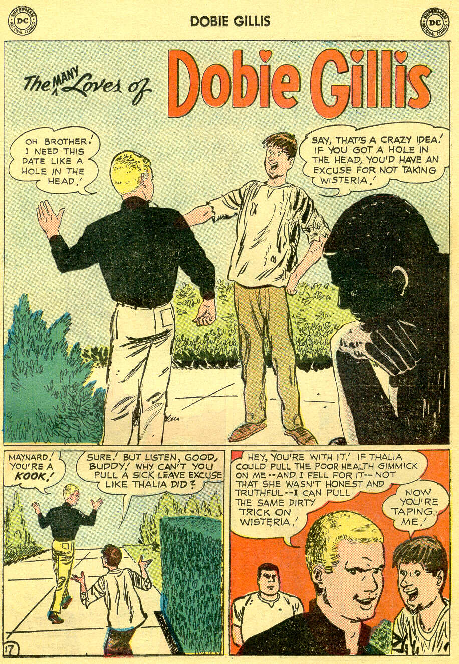 Many Loves of Dobie Gillis issue 4 - Page 23