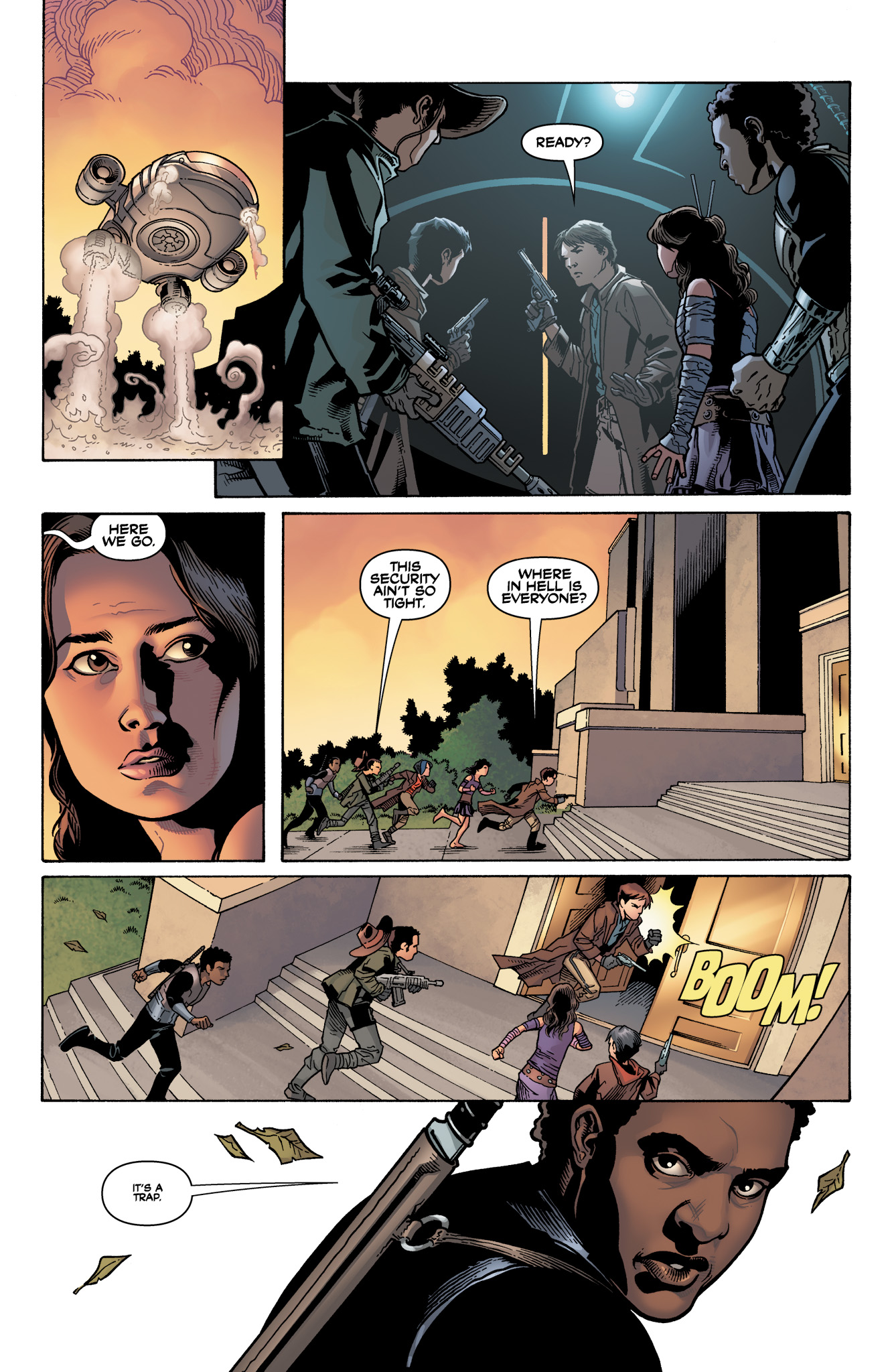 Read online Serenity: Firefly Class 03-K64  Leaves on the Wind comic -  Issue #4 - 17