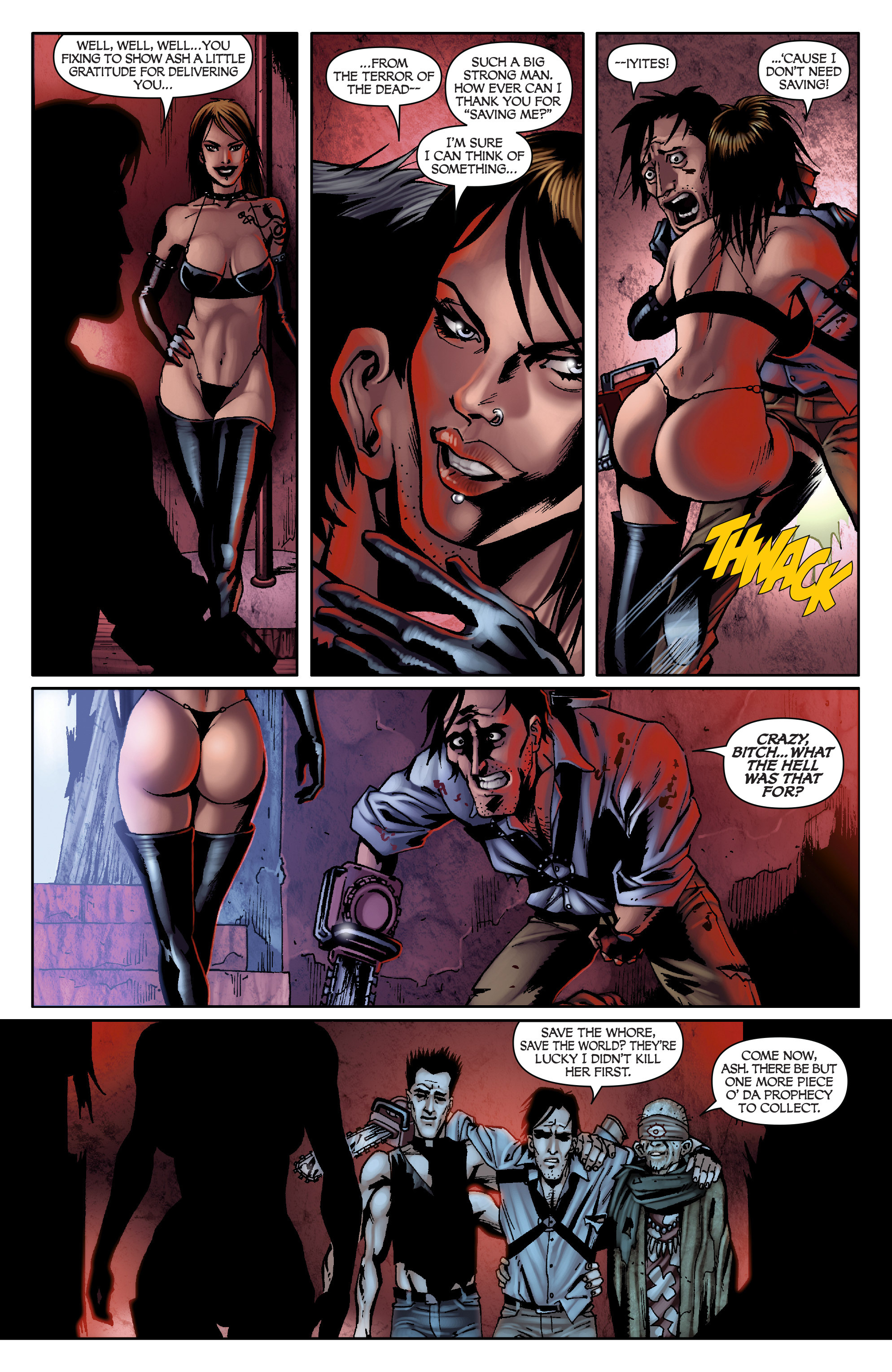 Read online Army of Darkness: From the Ashes comic -  Issue #Army of Darkness: From the Ashes TPB - 73