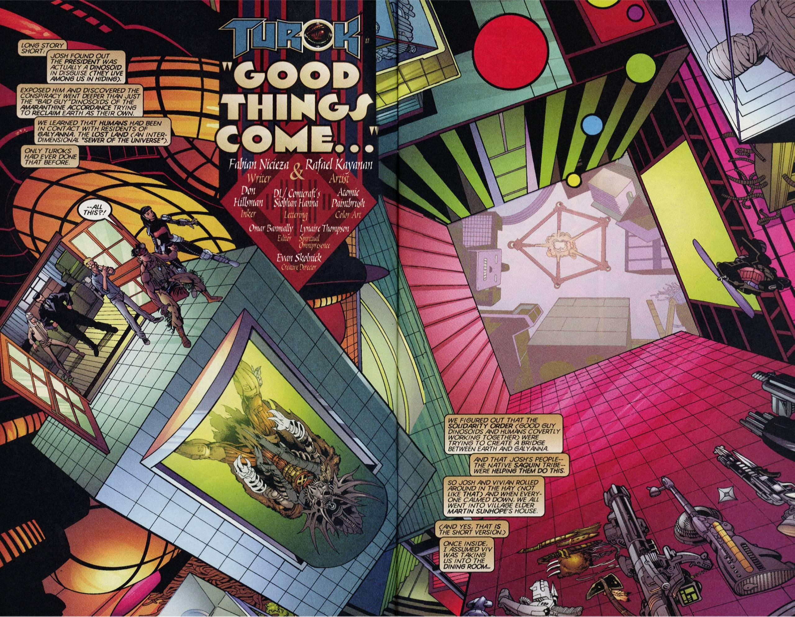 Read online Turok comic -  Issue #4 - 3