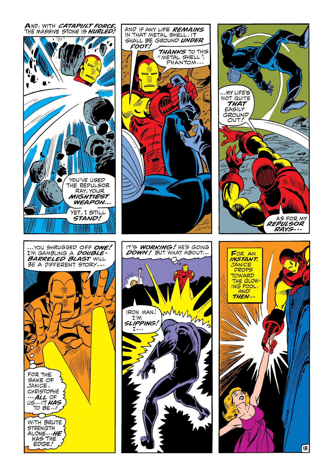 Read online Marvel Masterworks: The Invincible Iron Man comic -  Issue # TPB 6 (Part 1) - 24