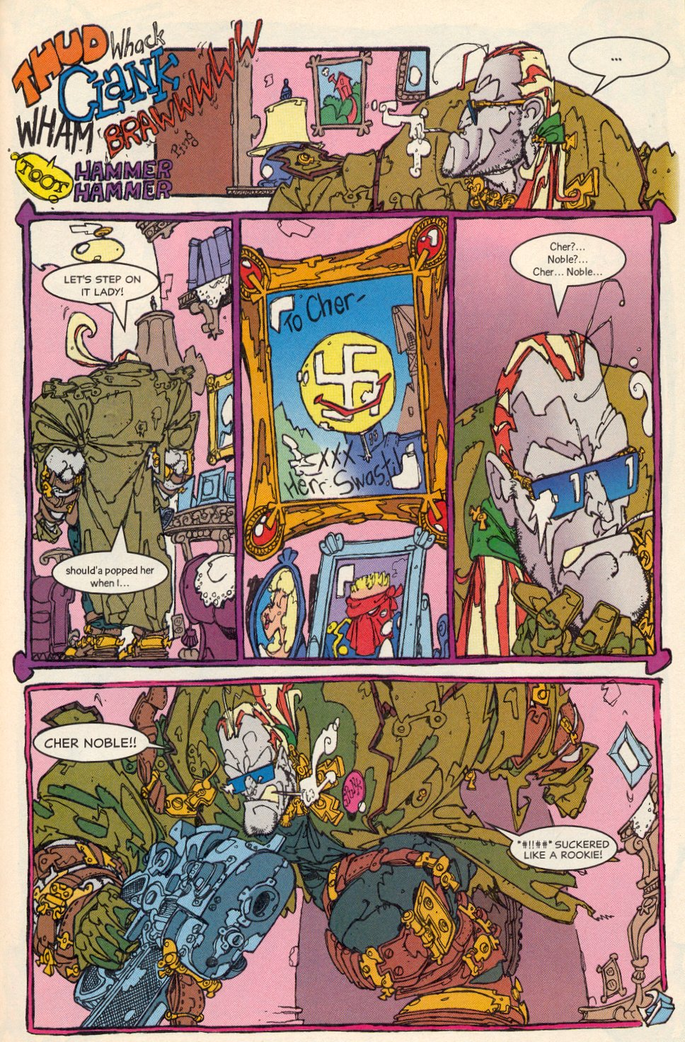 Read online Trencher comic -  Issue #1 - 23