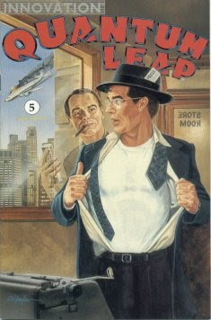 Read online Quantum Leap comic -  Issue #5 - 1